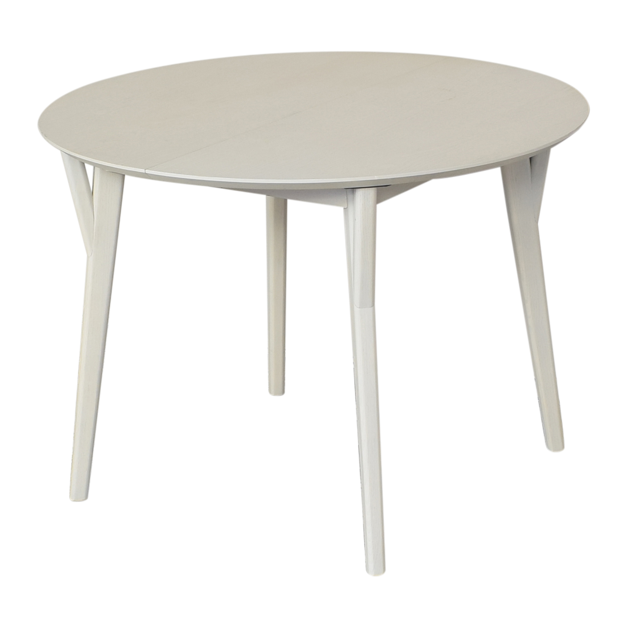 West Elm West Elm Mid Century Round Expandable Dining Table Tables