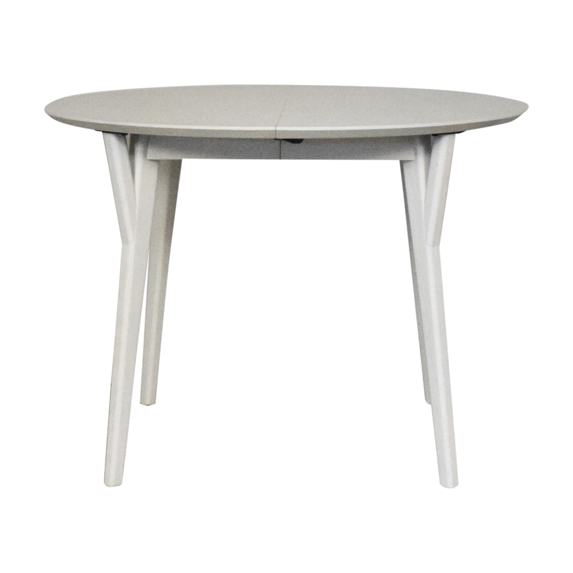 West Elm West Elm Mid Century Round Expandable Dining Table on sale