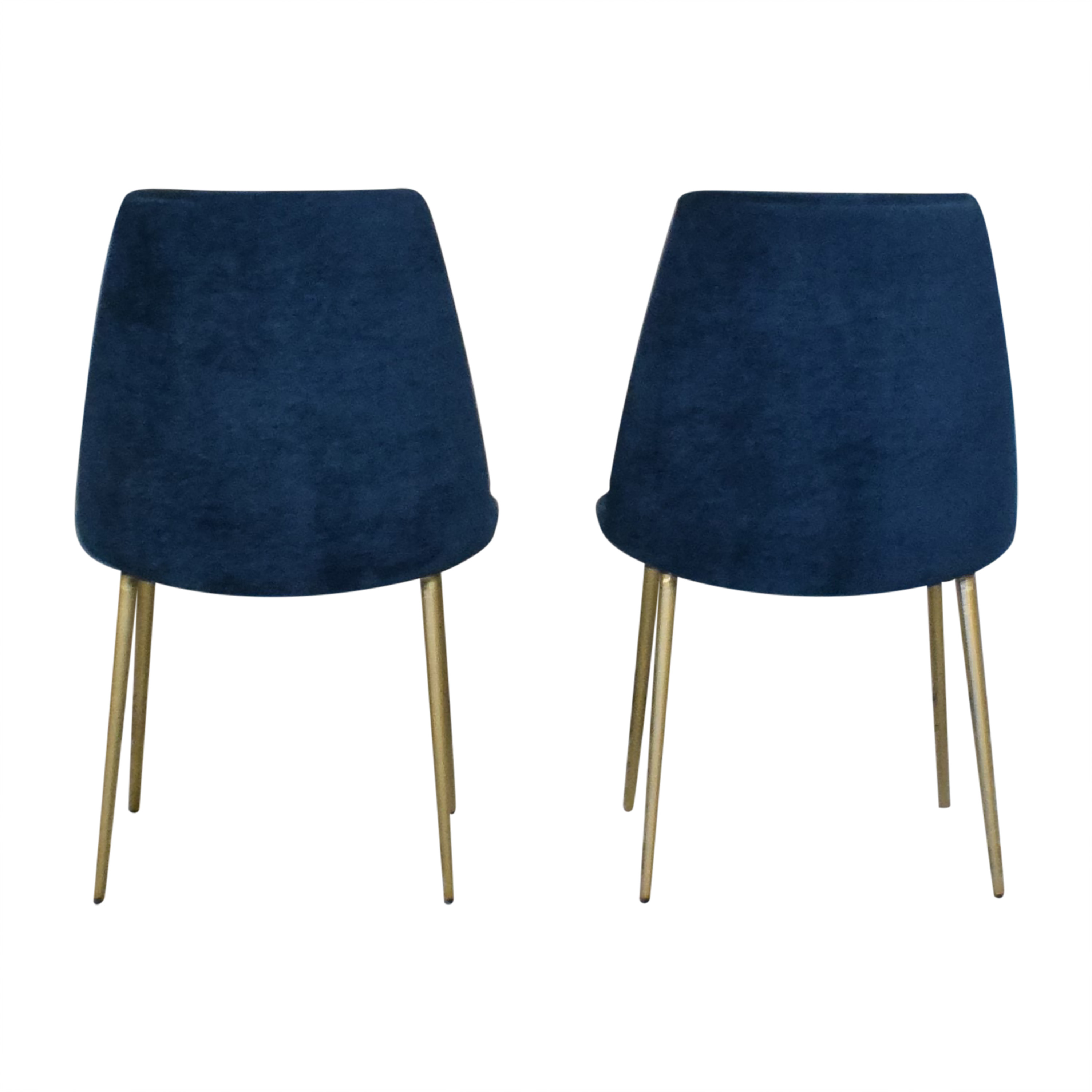 West Elm West Elm Mid-Century Upholstered Dining Chairs for sale
