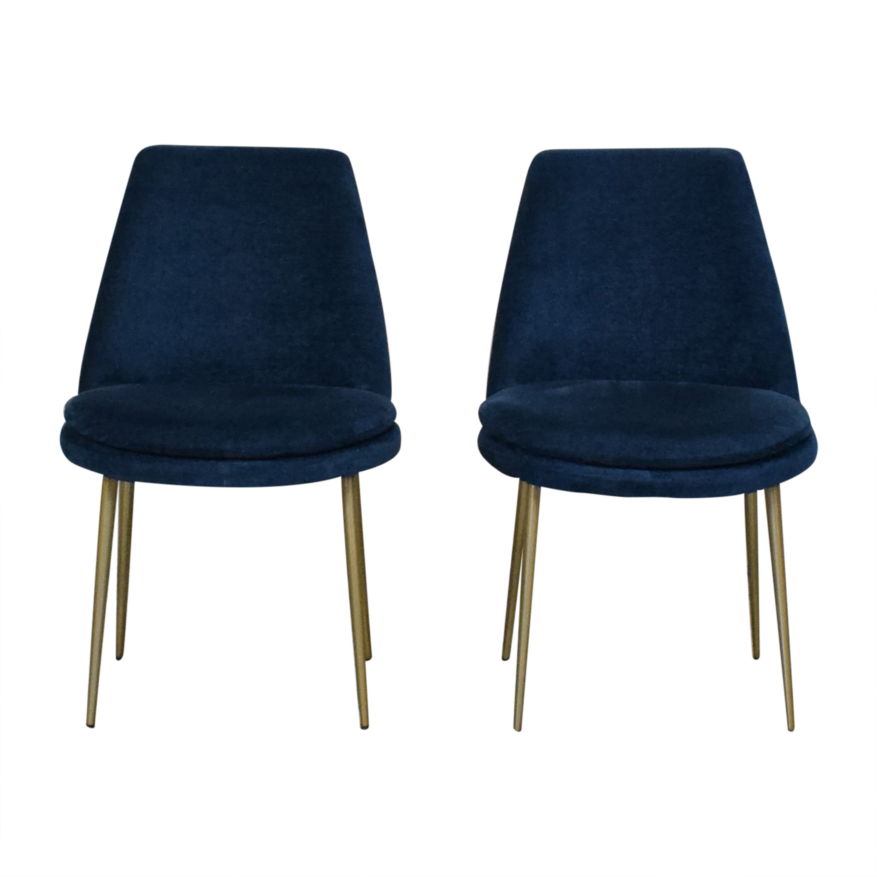 West Elm West Elm Mid-Century Upholstered Dining Chairs nj