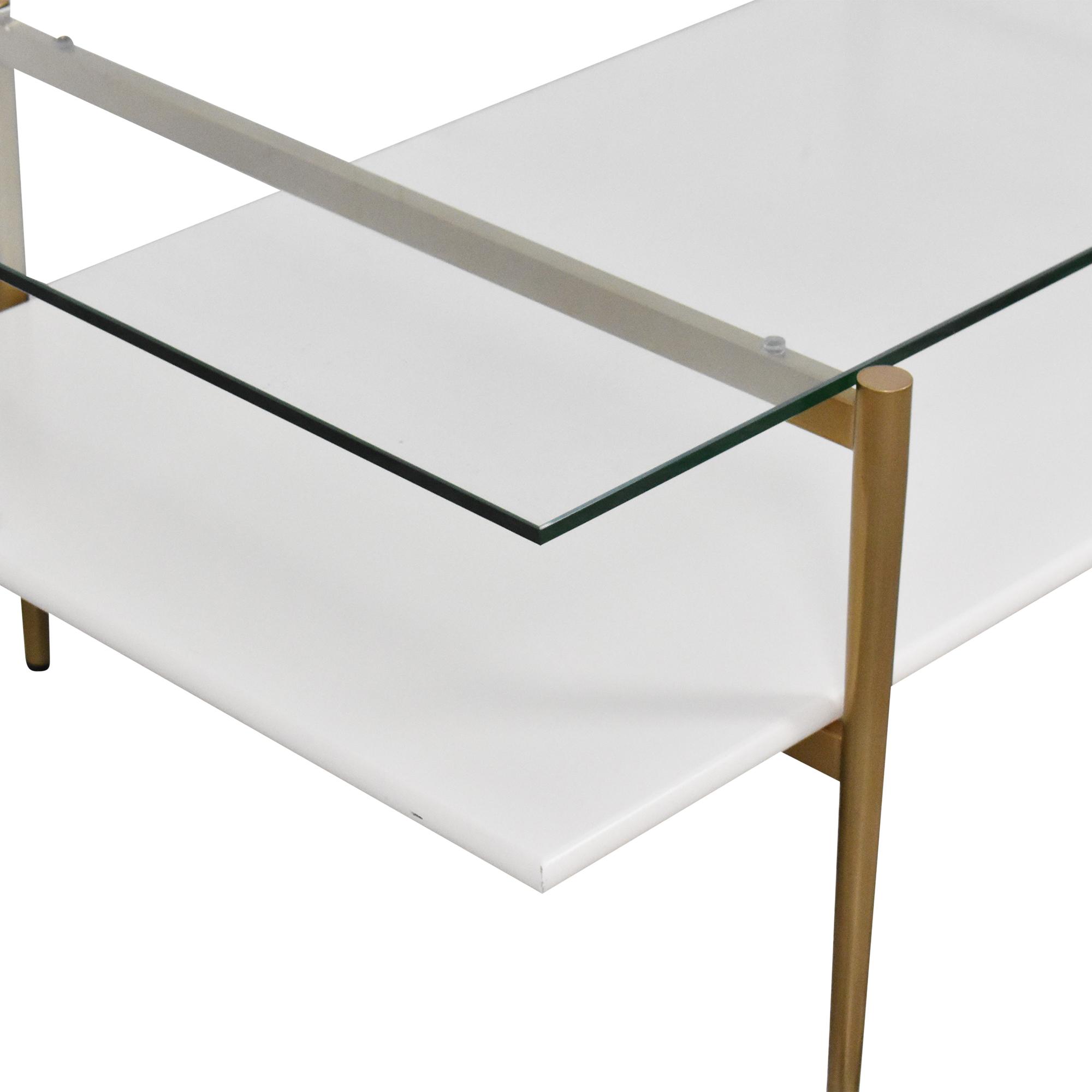 West Elm West Elm Mid Century Art Display Coffee Table on sale
