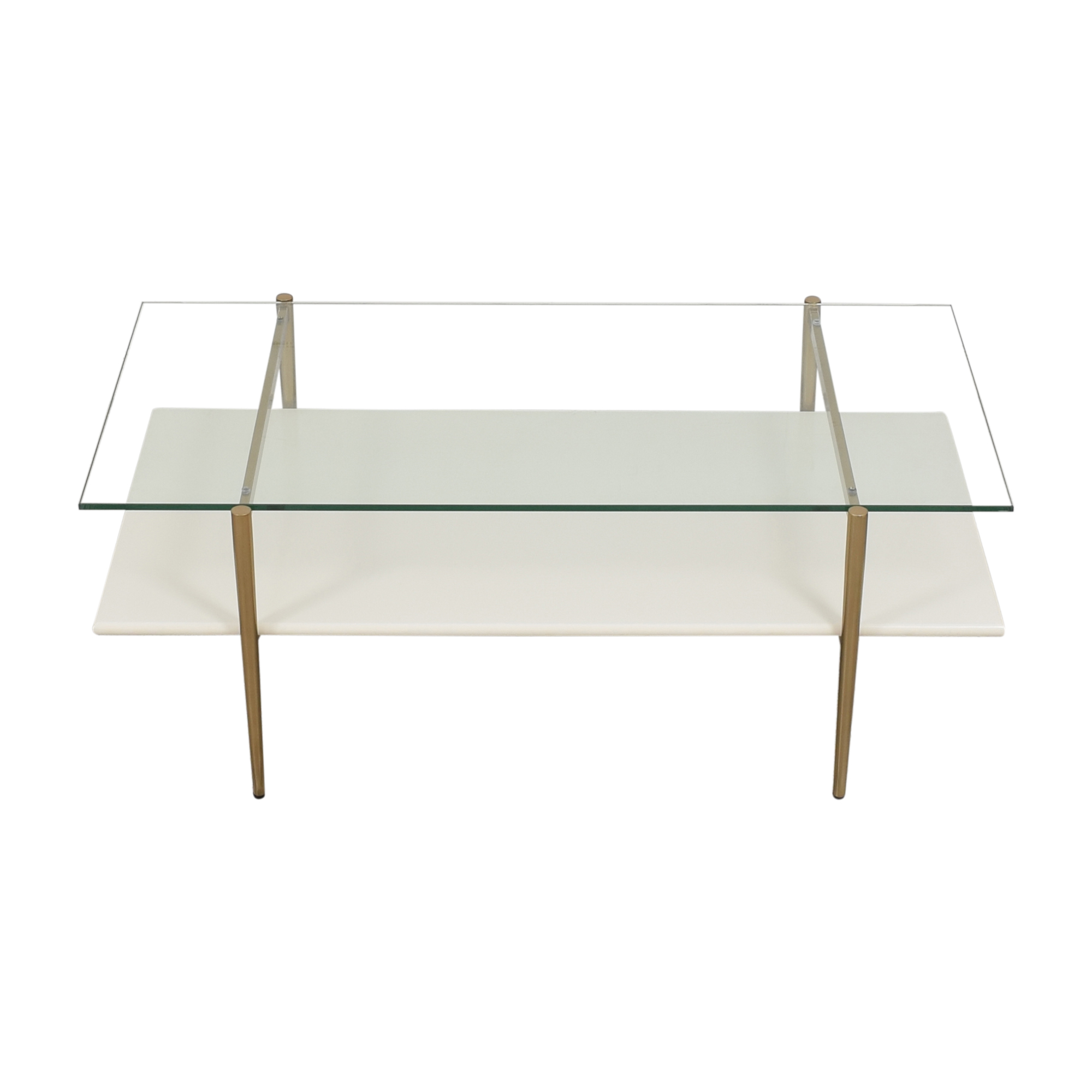 West Elm Mid Century Art Display Coffee Table / Tables