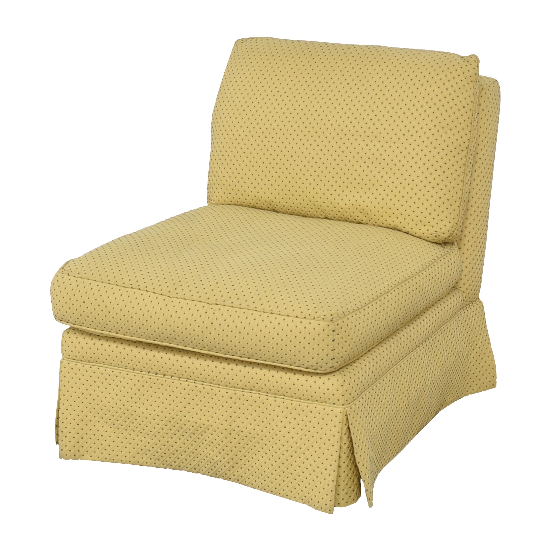 Sherrill Furniture Sherrill Furniture Skirted Slipper Chair ma