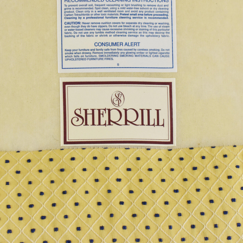 buy Sherrill Furniture Skirted Slipper Chair Sherrill Furniture Accent Chairs