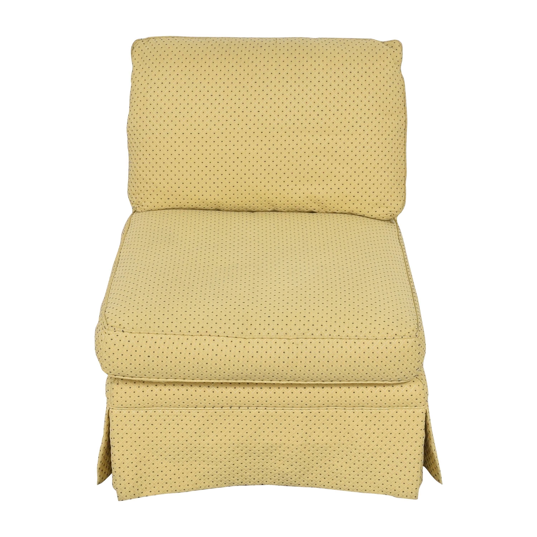 Sherrill Furniture Sherrill Furniture Skirted Slipper Chair Chairs