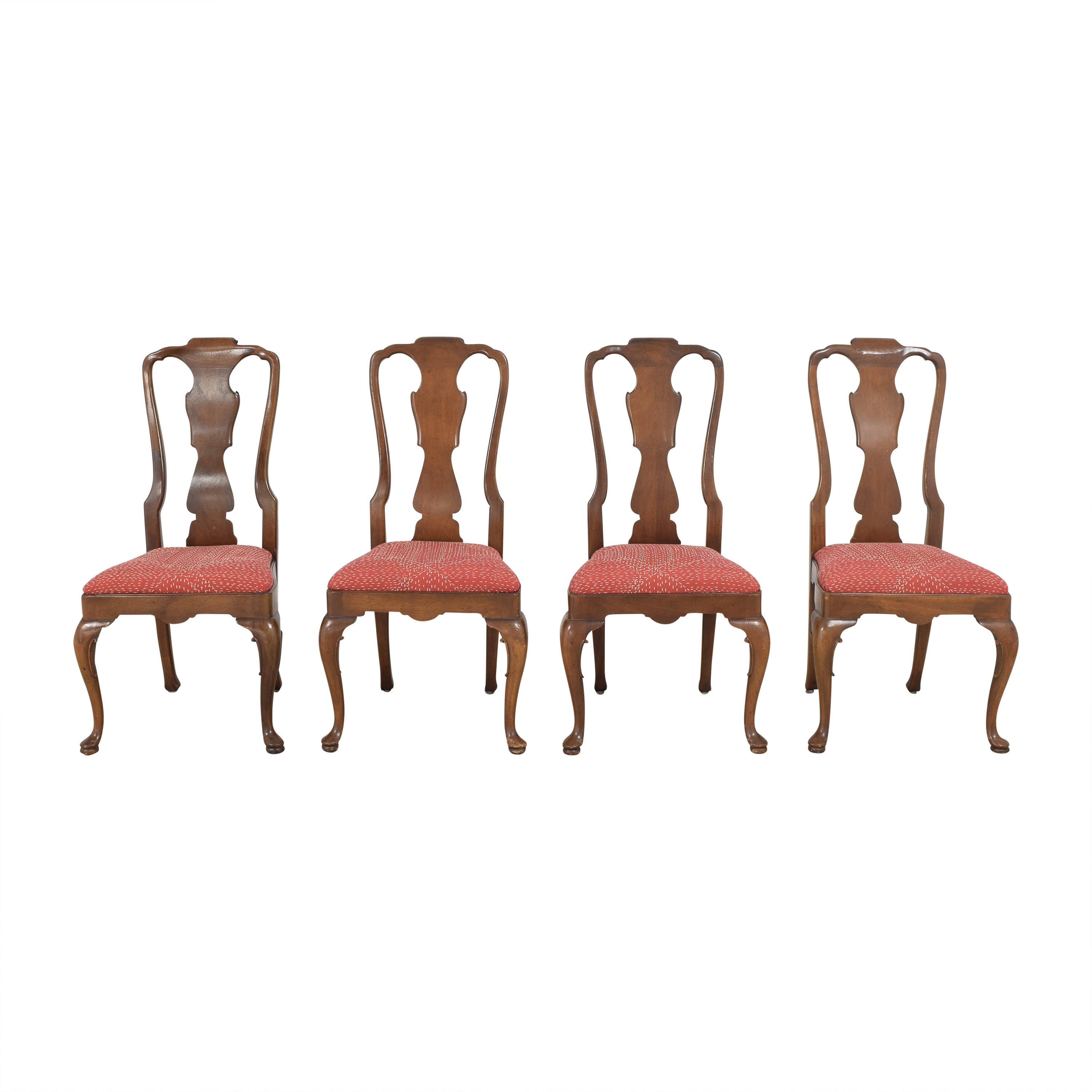 Henredon Furniture Queen Anne Dining Side Chairs / Dining Chairs