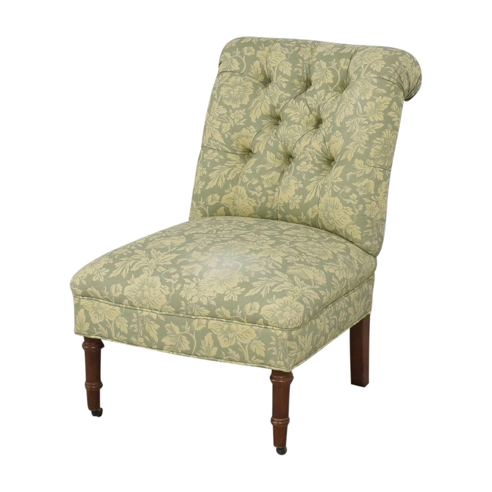 Lee Industries Tufted Armless Accent Chair / Chairs