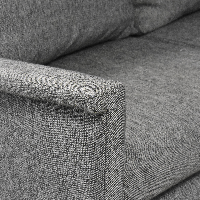 buy West Elm West Elm Carlo Mid-Century Sectional Sofa online