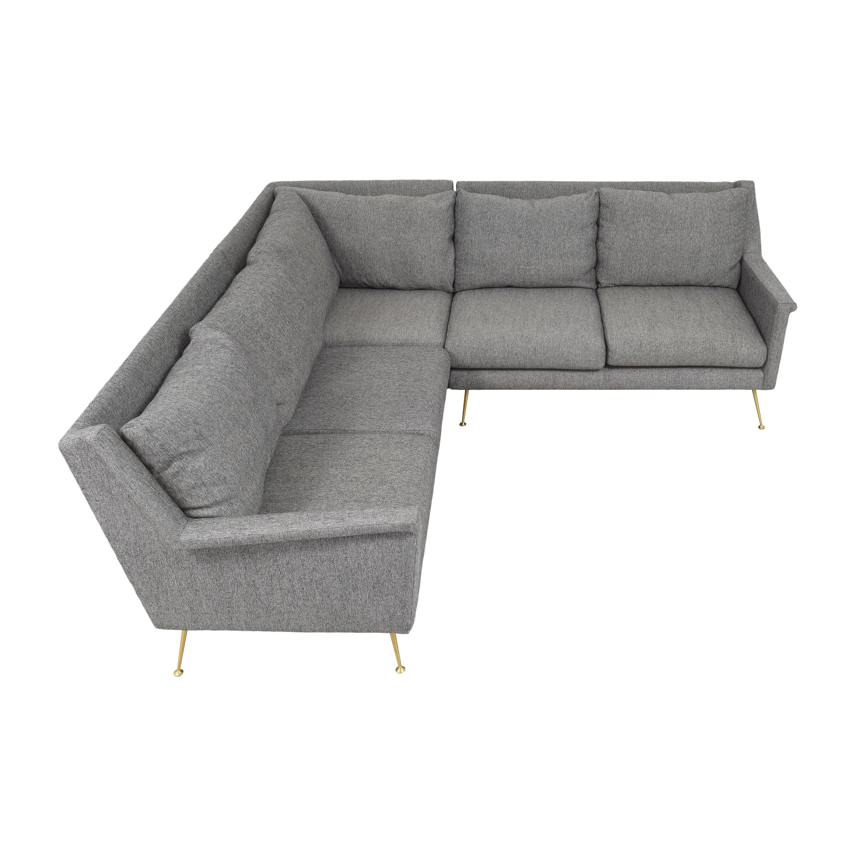 West Elm West Elm Carlo Mid-Century Sectional Sofa coupon