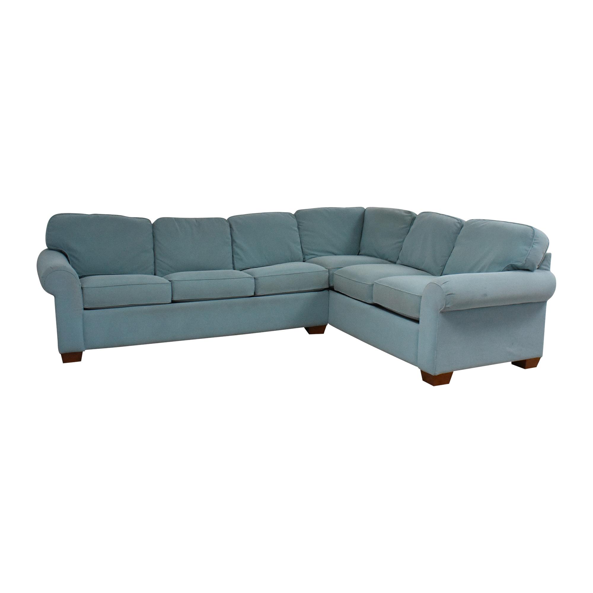 La-Z-Boy La-Z-Boy Corner Sectional Sleeper Sofa dimensions