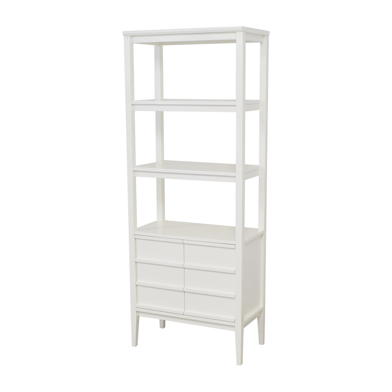 buy Crate & Barrel Spotlight Bookcase Crate & Barrel Storage