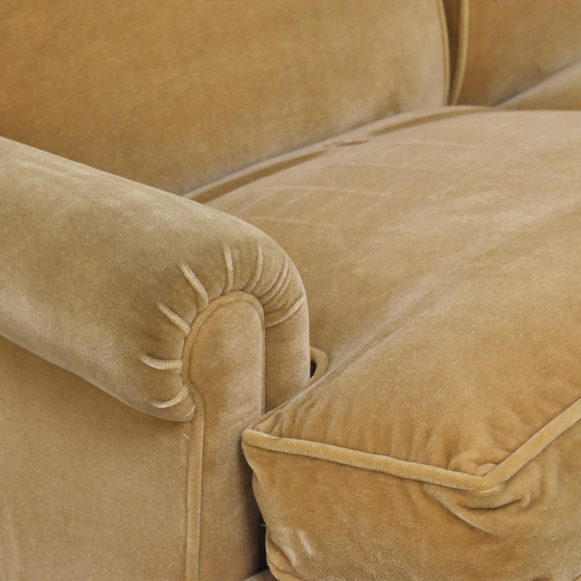 shop George Smith Scroll Arm Sofa George Smith Classic Sofas