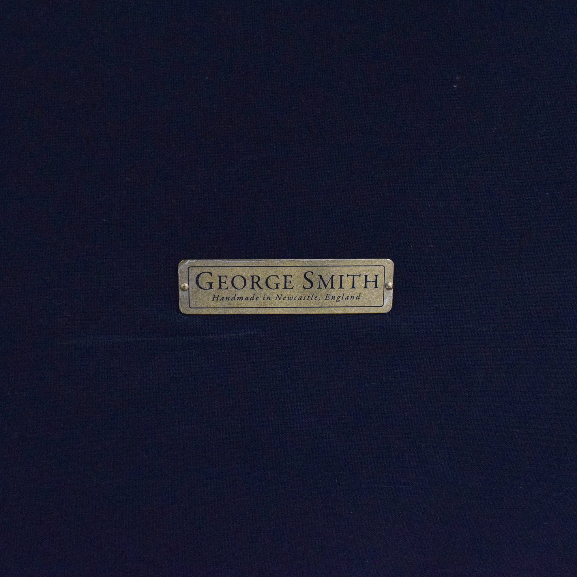 George Smith George Smith Patterned Ottoman Chairs