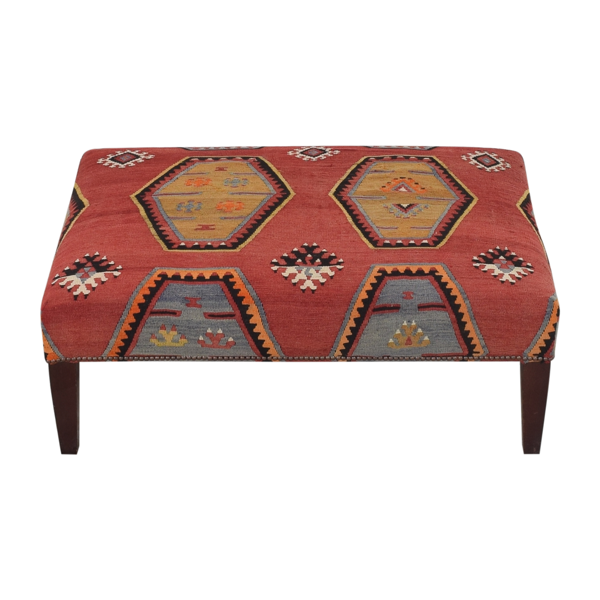 George Smith George Smith Patterned Ottoman discount