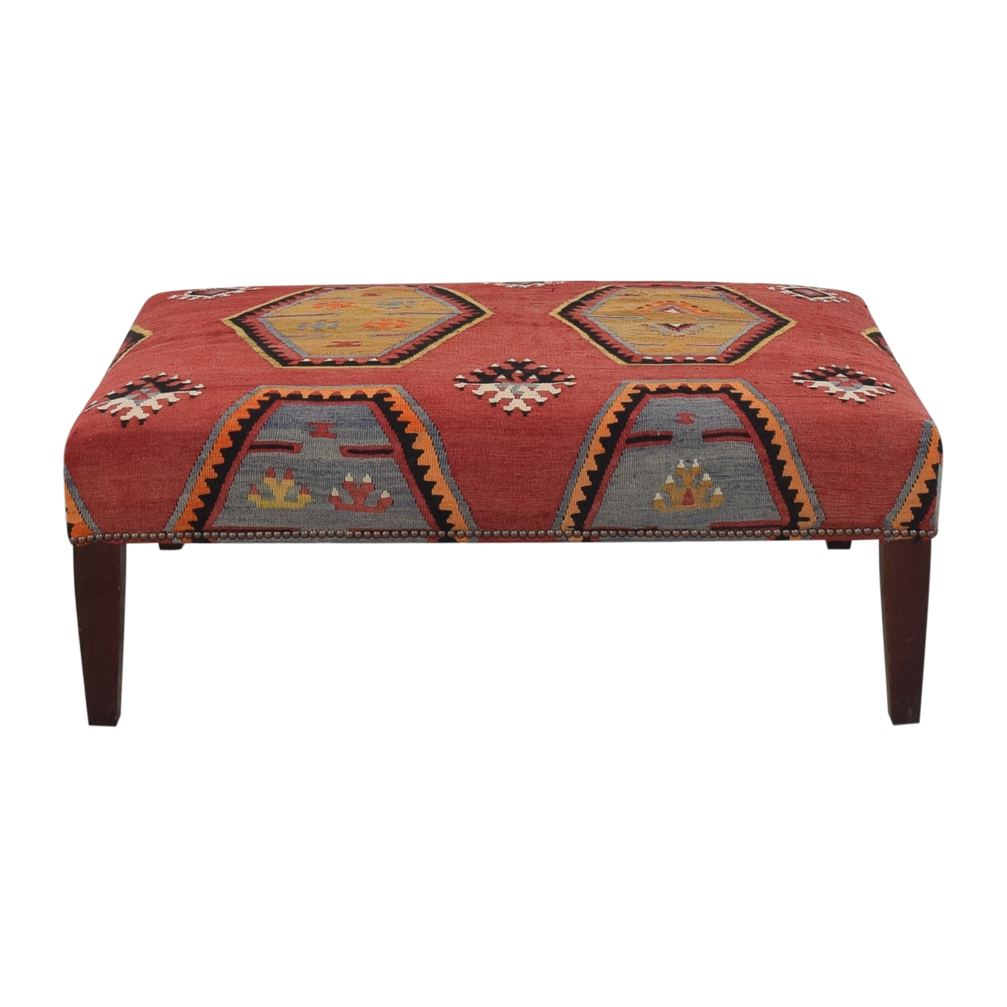 buy George Smith Patterned Ottoman George Smith