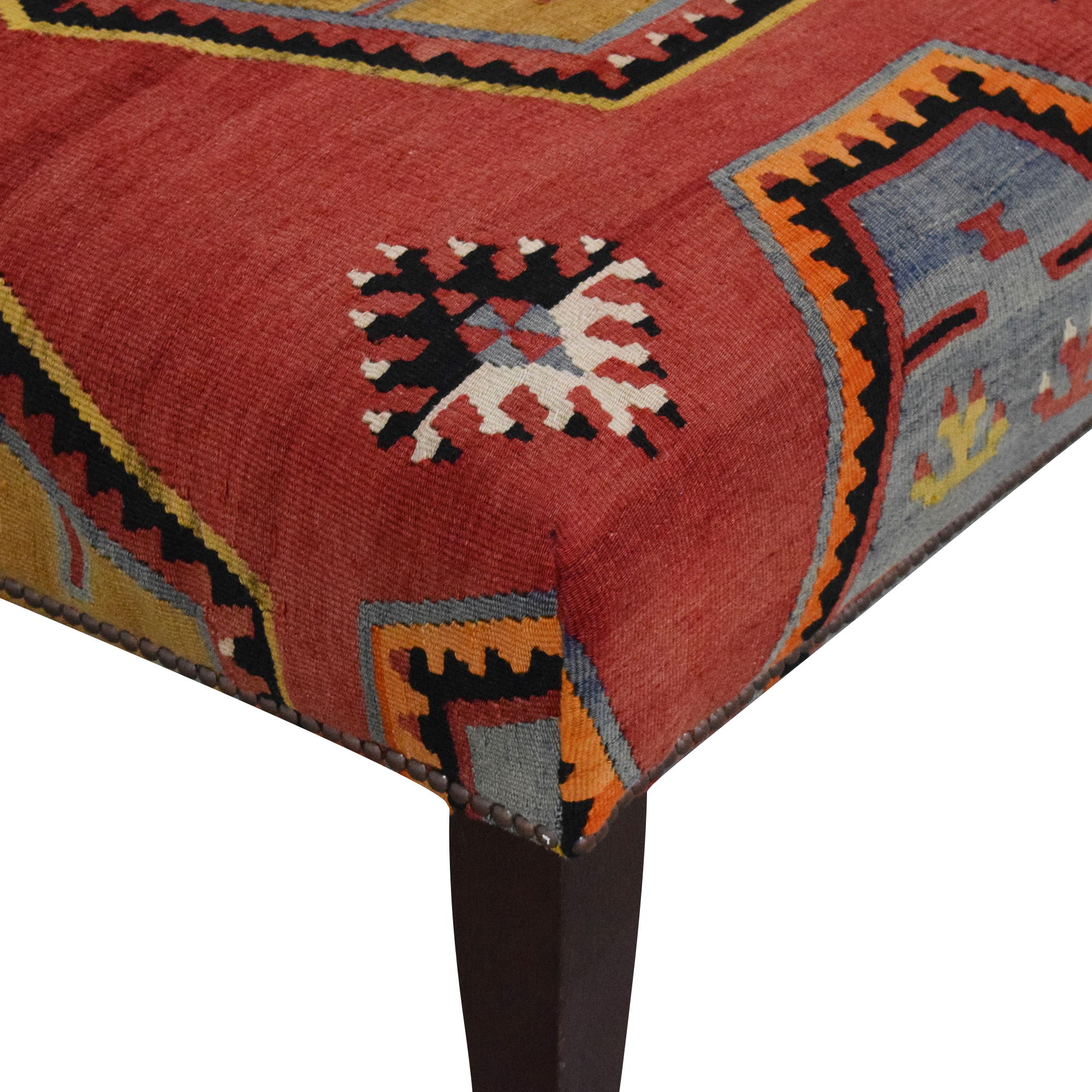 George Smith George Smith Patterned Ottoman nyc