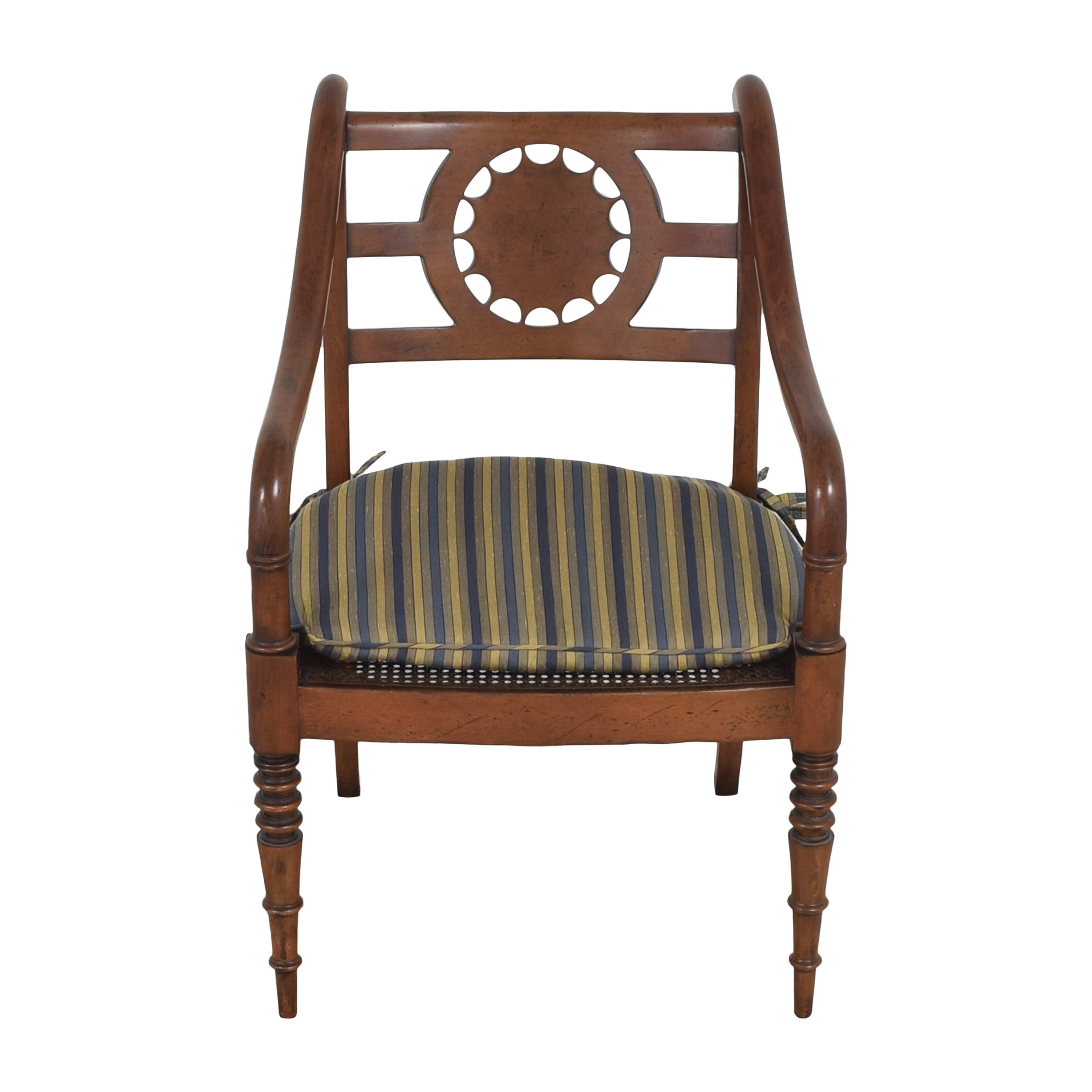 Baker Furniture Accent Armchair with Cushion / Accent Chairs
