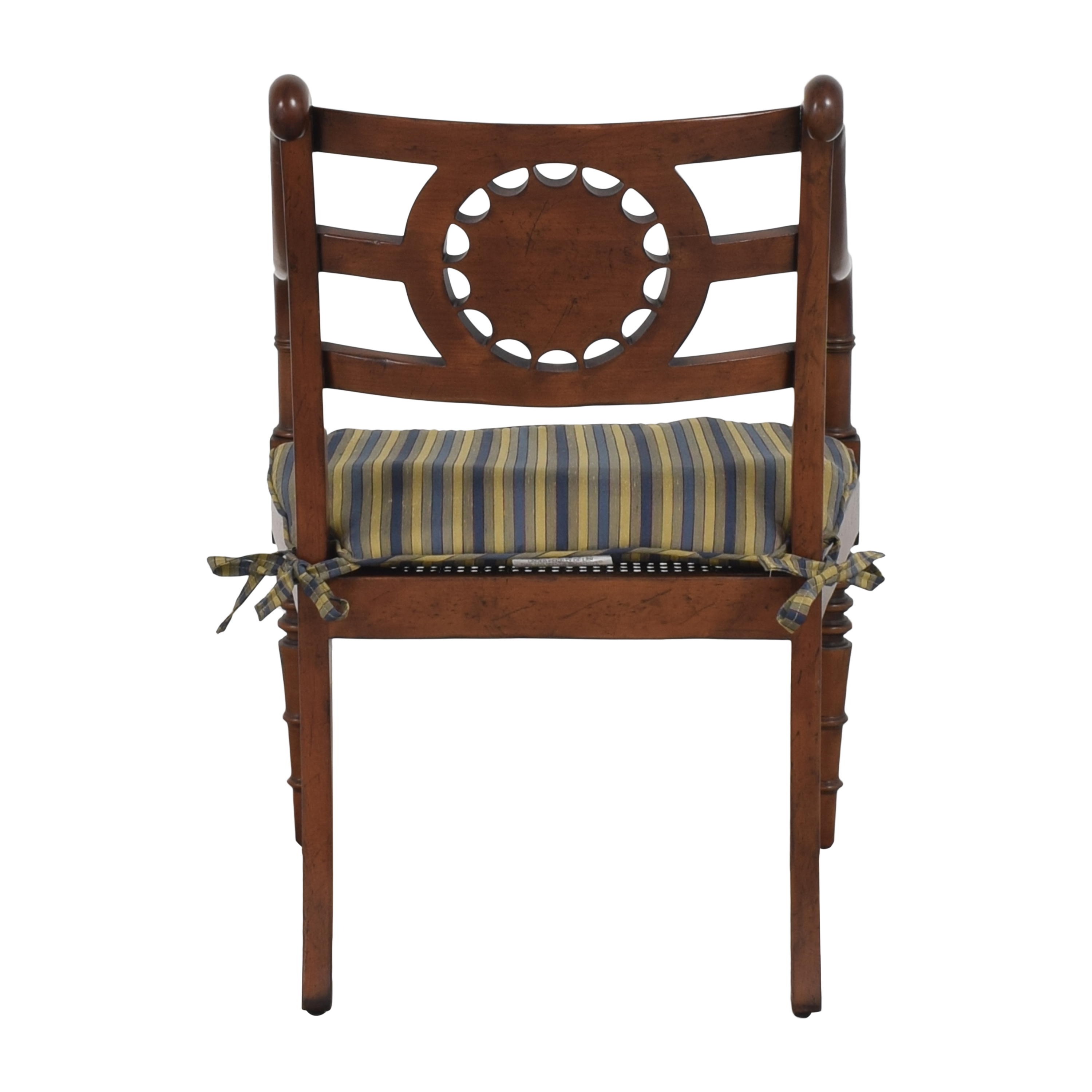 Baker Furniture Baker Furniture Accent Armchair with Cushion pa