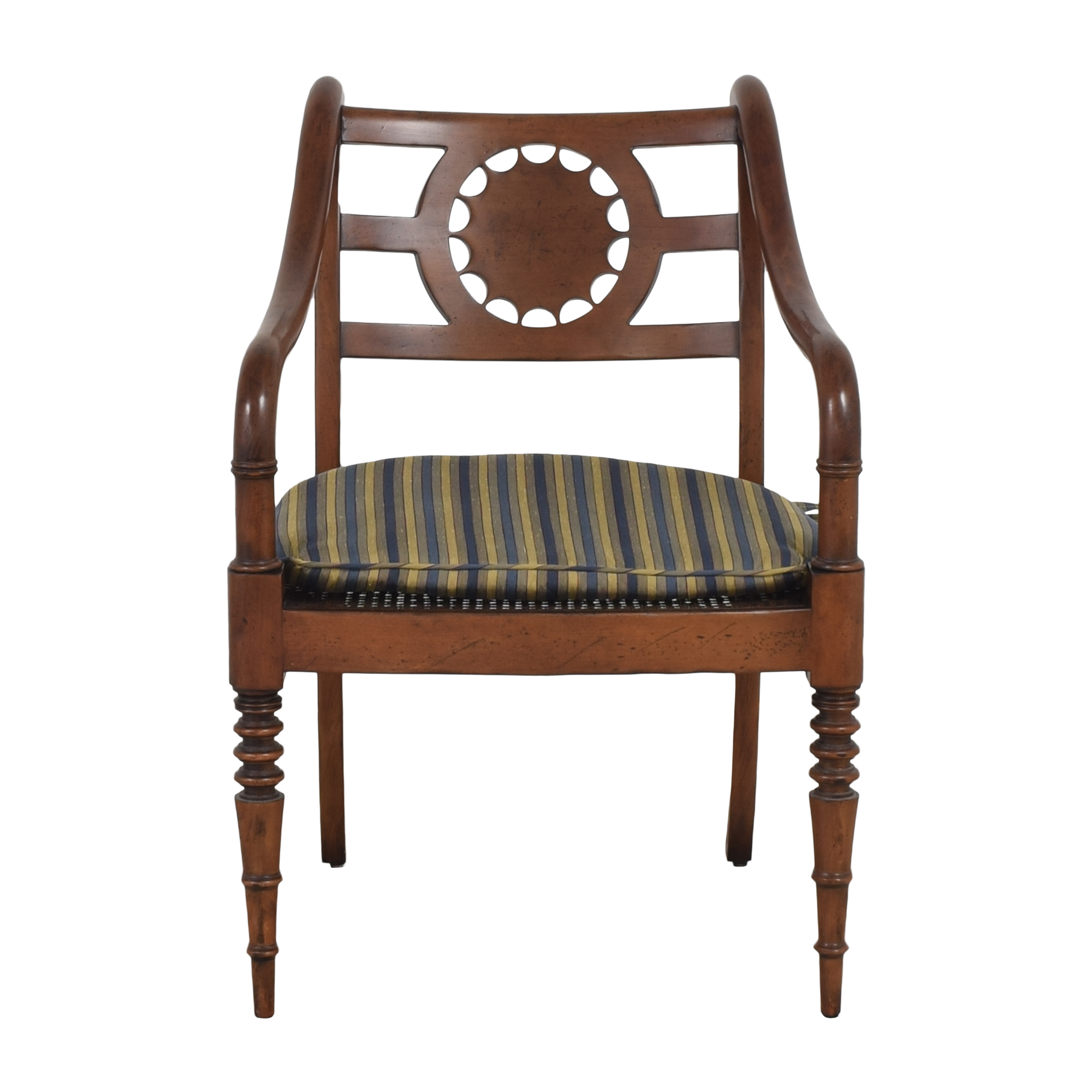 shop Baker Furniture Accent Armchair with Cushion Baker Furniture Accent Chairs