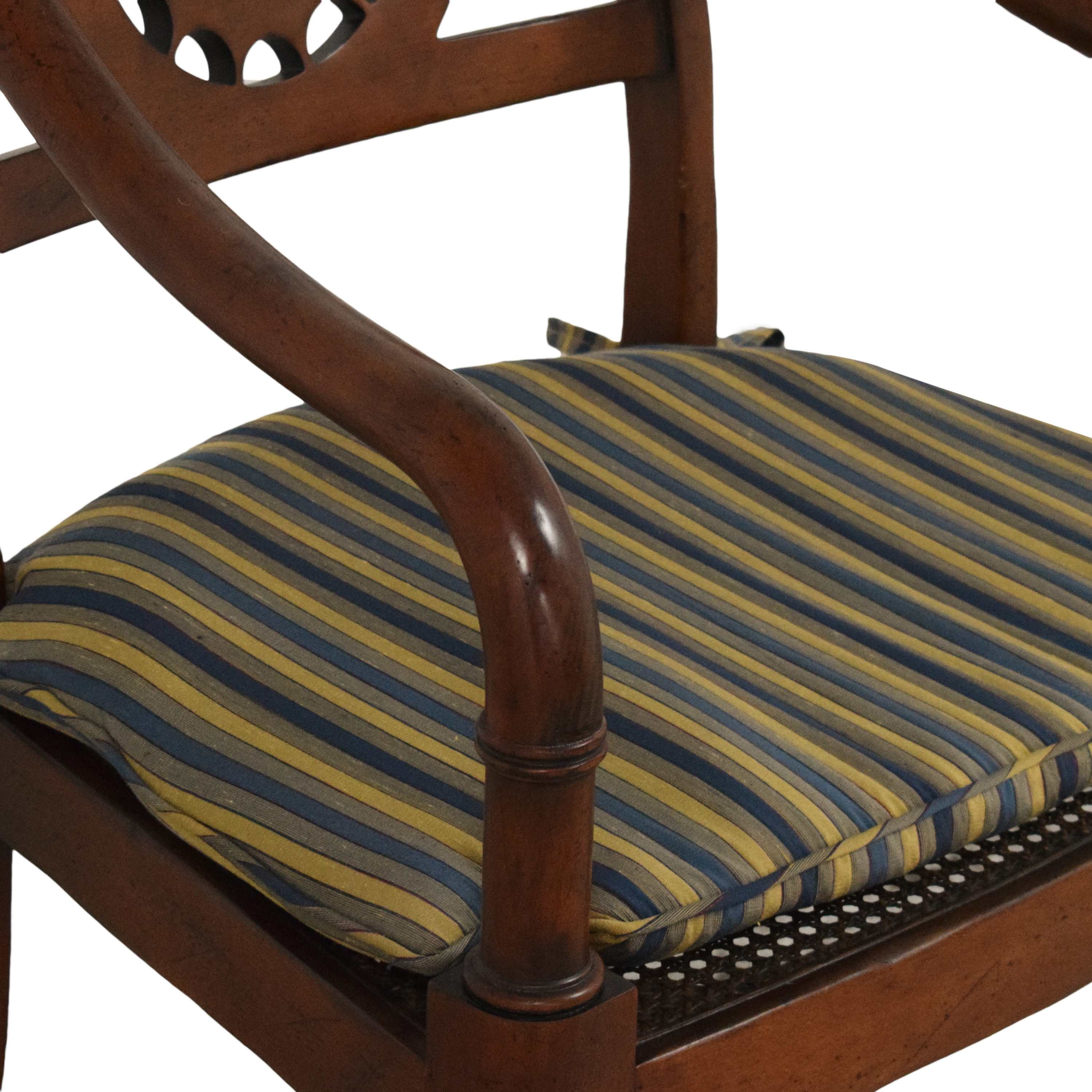 Baker Furniture Baker Furniture Accent Armchair with Cushion on sale
