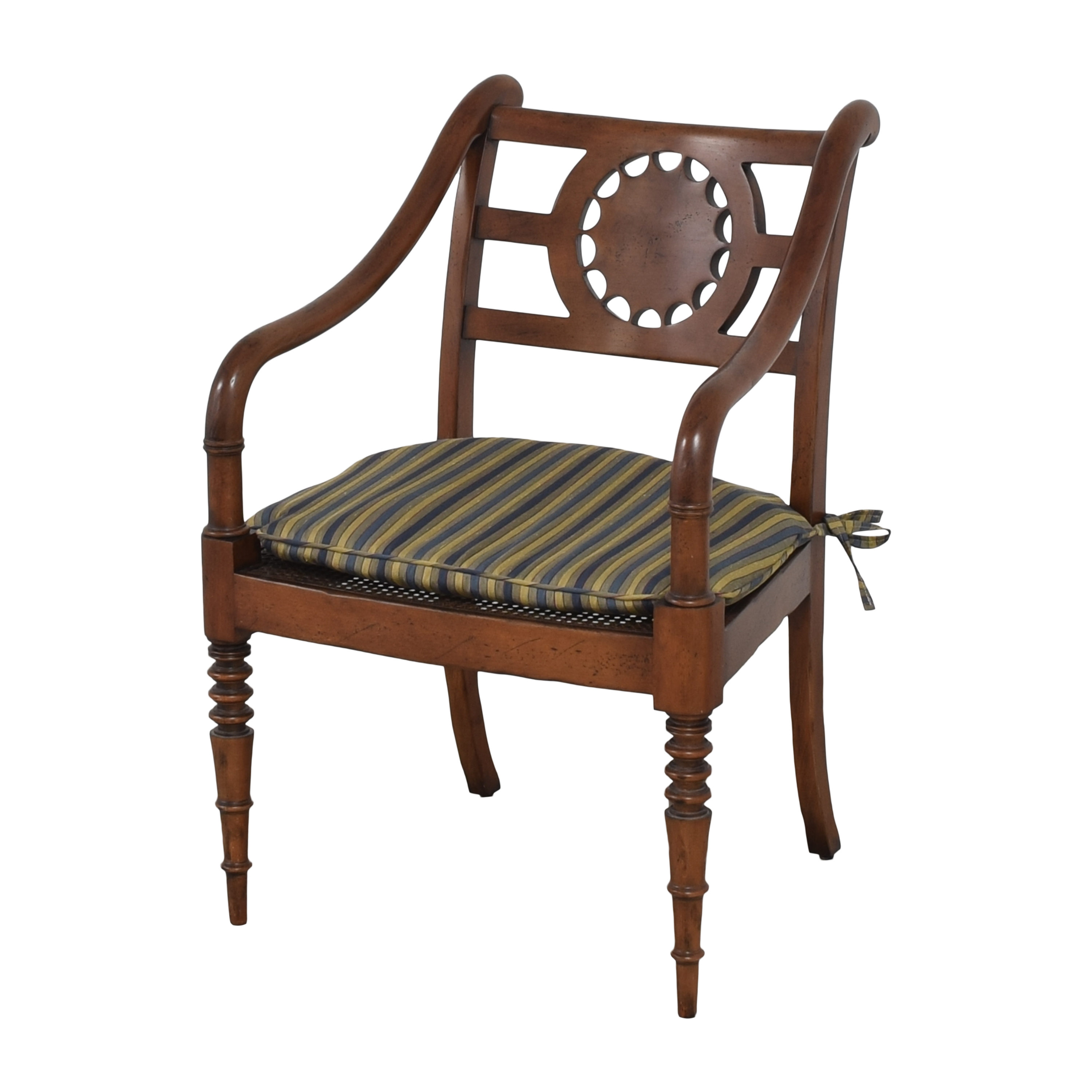 Baker Furniture Baker Furniture Accent Armchair with Cushion nj