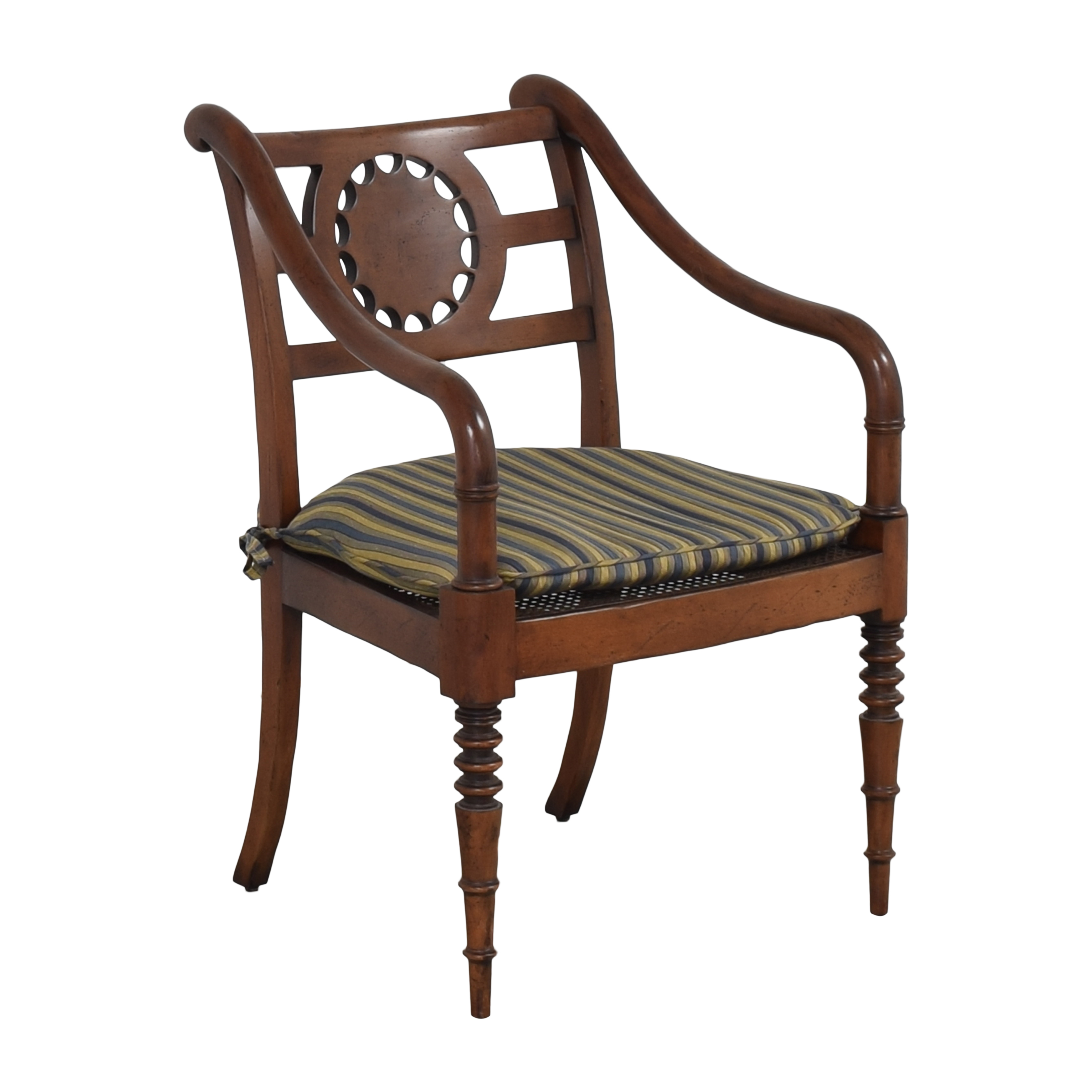 Baker Furniture Baker Furniture Accent Armchair with Cushion dimensions