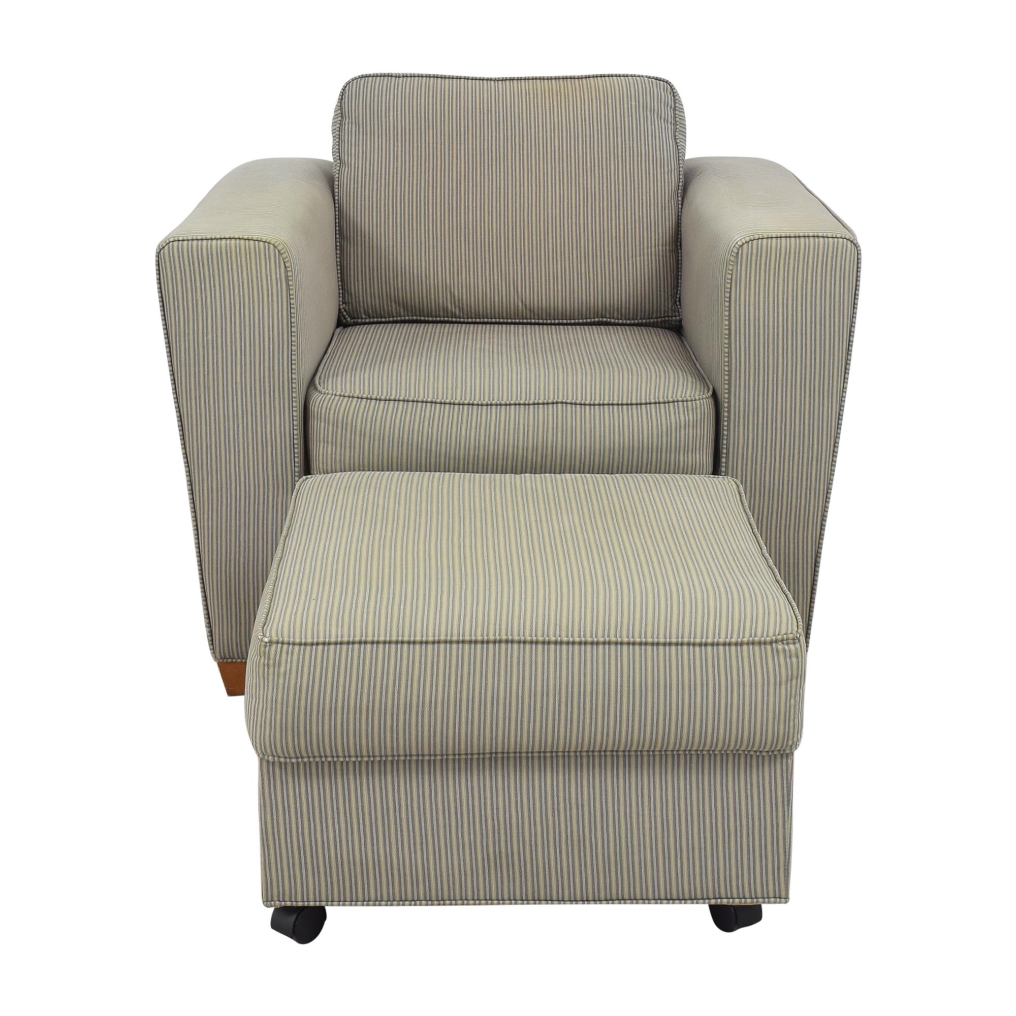 Castro Convertibles Castro Convertibles Chair with Ottoman price
