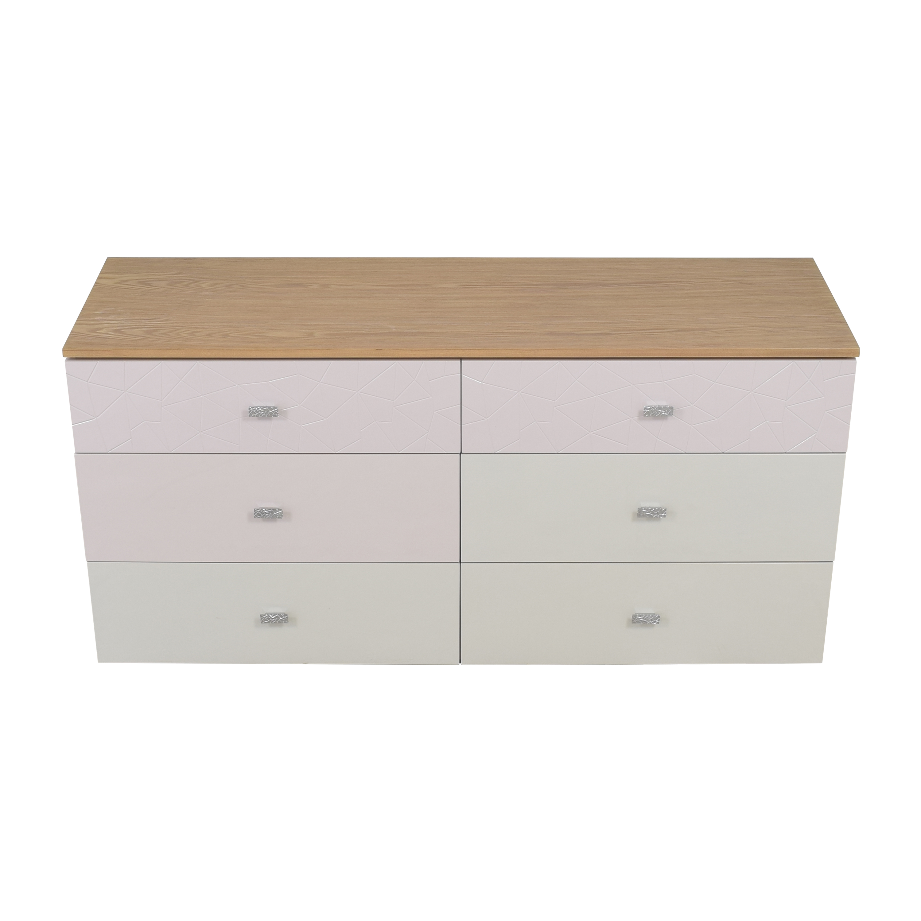 Modern Six Drawer Double Dresser coupon