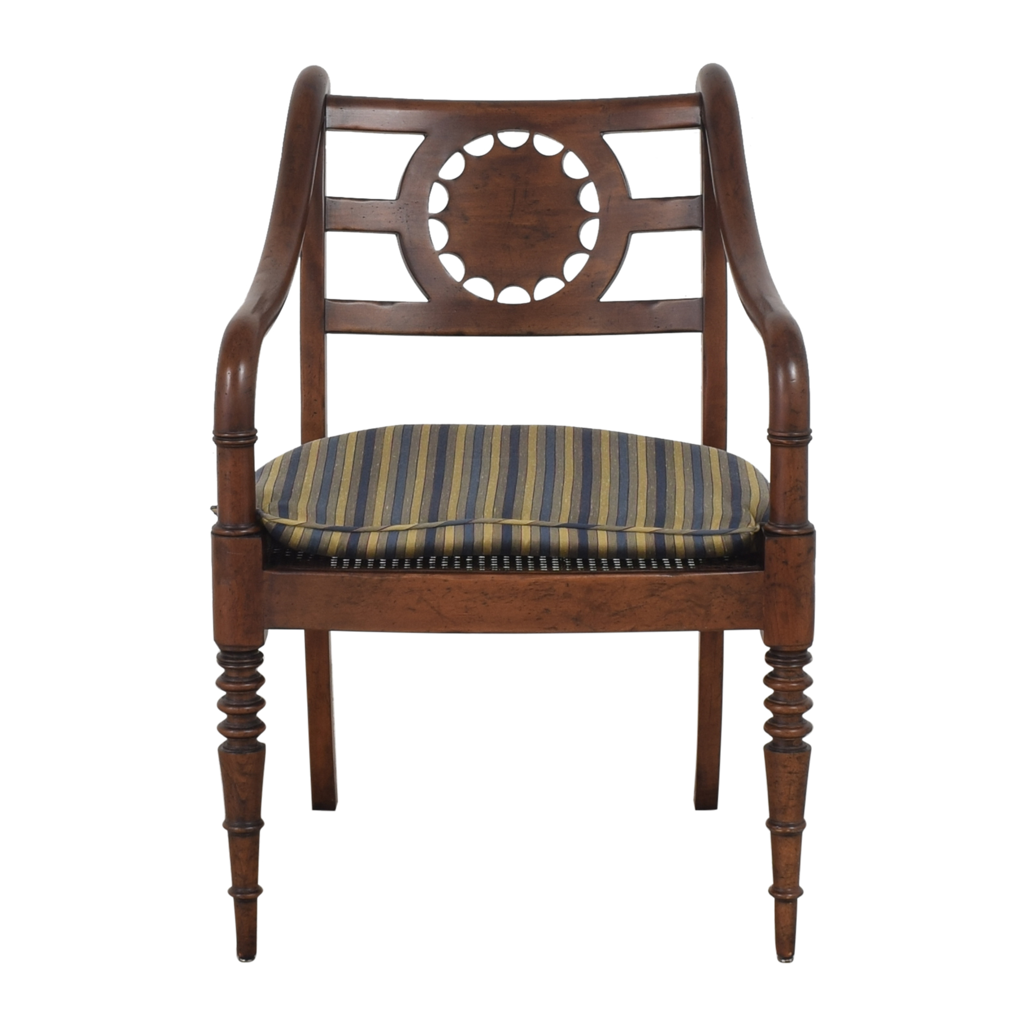 Baker Furniture Baker Furniture Accent Armchair with Cushion Chairs