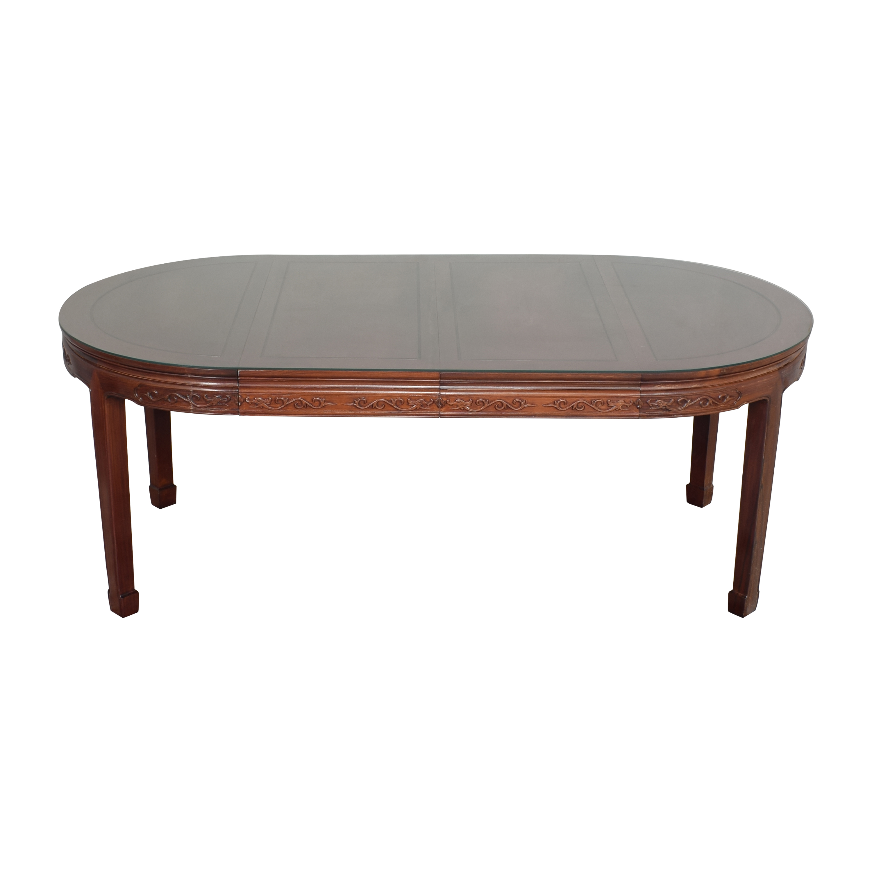 buy  Chinoiserie Round Extendable Dining Table online