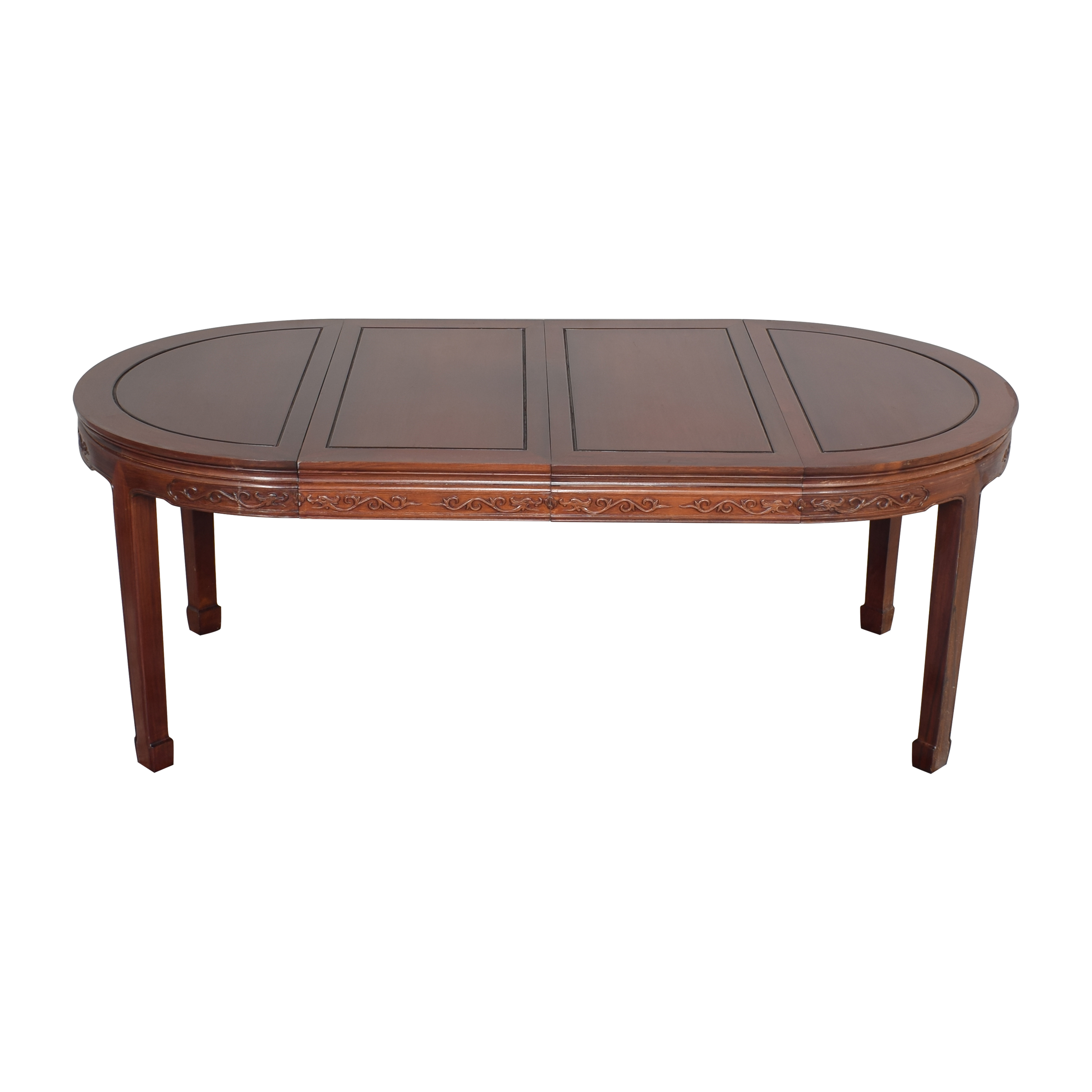 Chinoiserie Round Extendable Dining Table ct