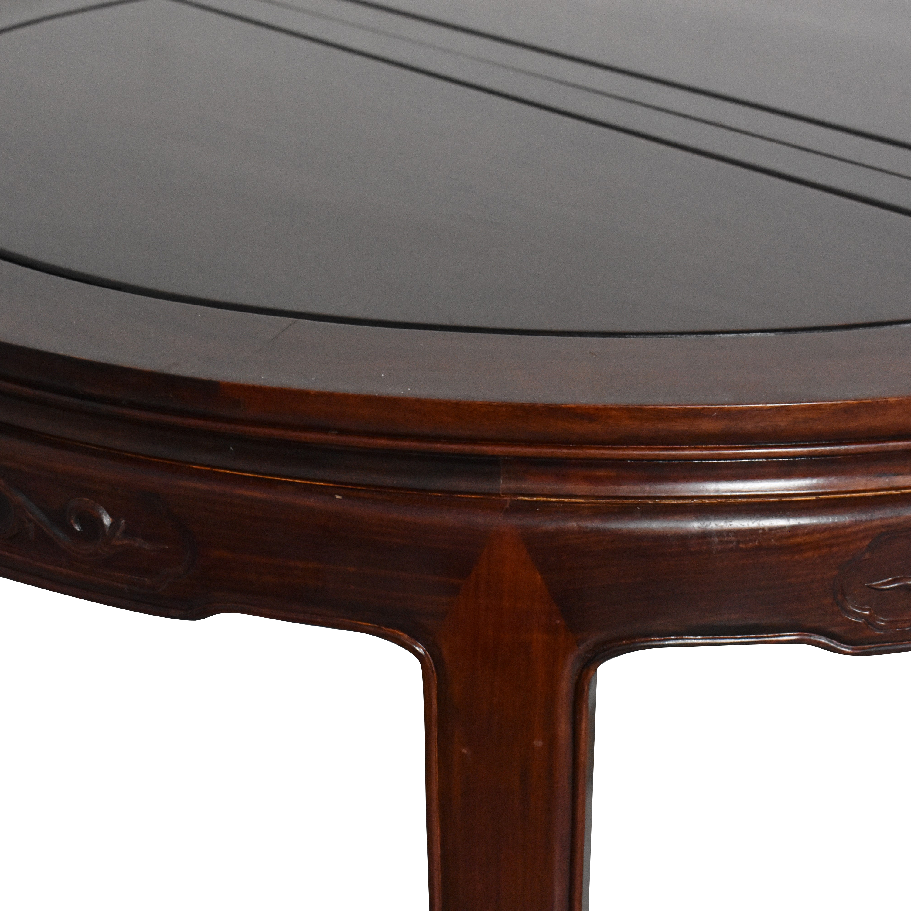 Chinoiserie Round Extendable Dining Table coupon