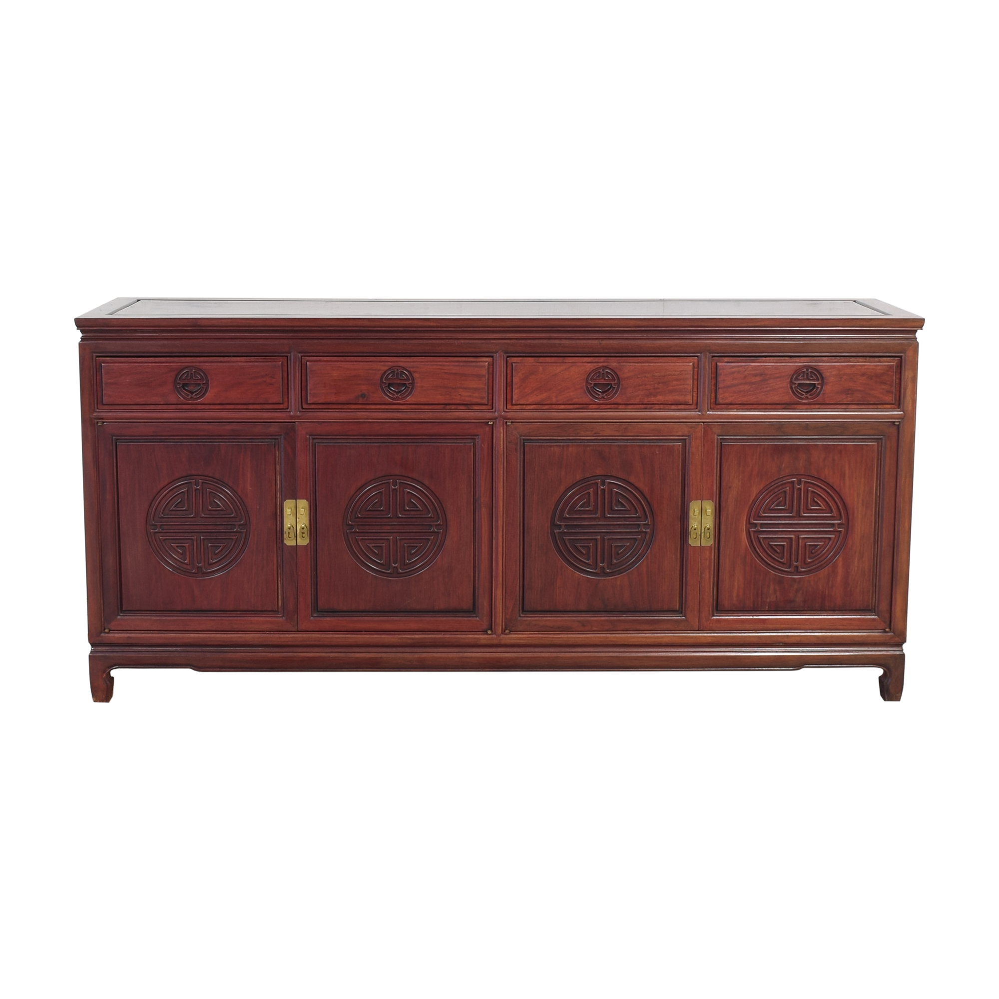 Four Door Chinoiserie Sideboard ma