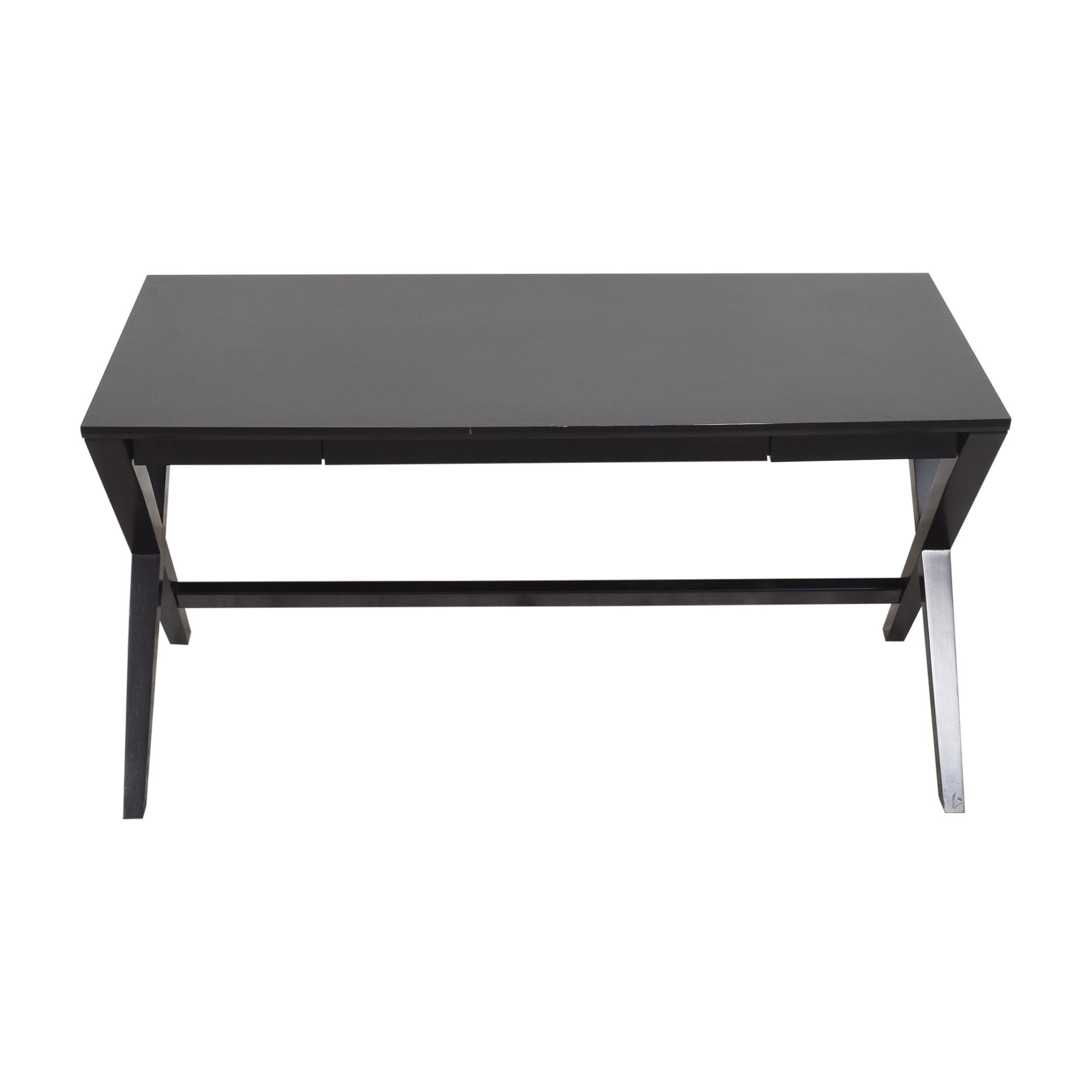 Crate & Barrel Spotlight X Leg Desk sale