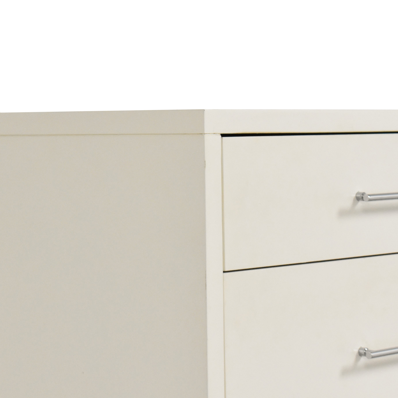 West Elm West Elm Narrow Leg Five Drawer Dresser Storage