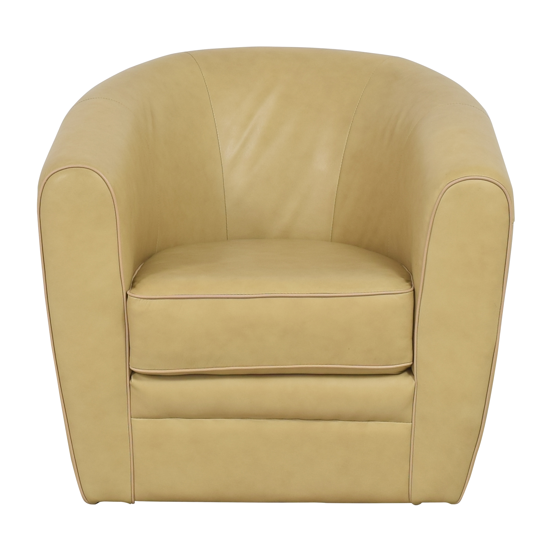 Simon Li Simon Li Swivel Accent Chair beige
