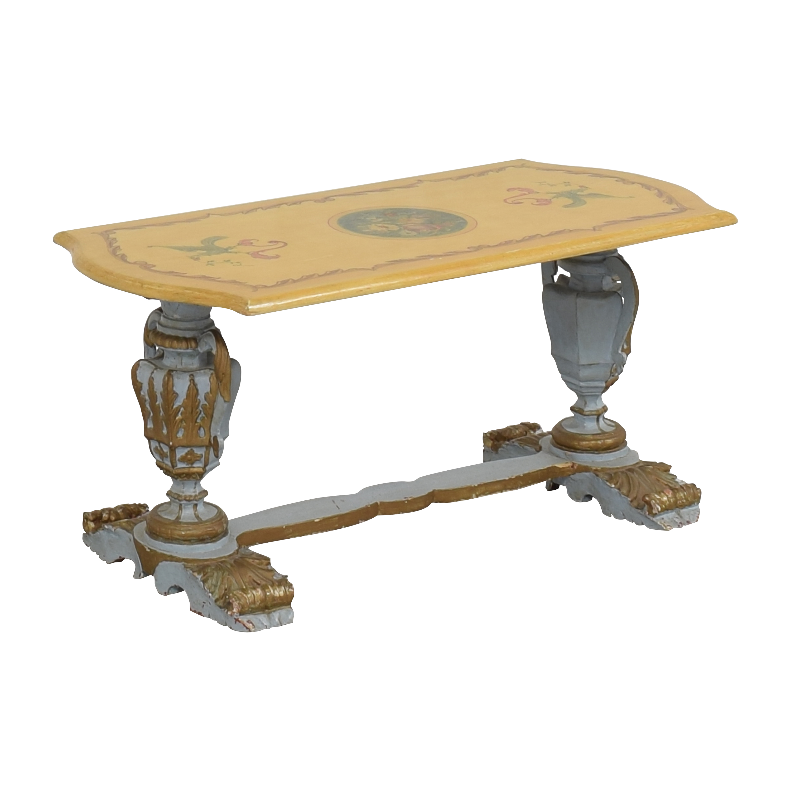 shop Distressed Coffee Table