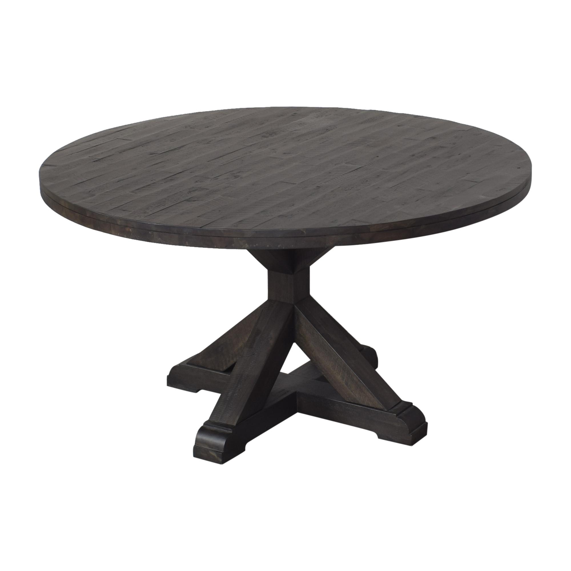 Wayfair Wayfair Birch Lane Fahey Pedestal Dining Table used