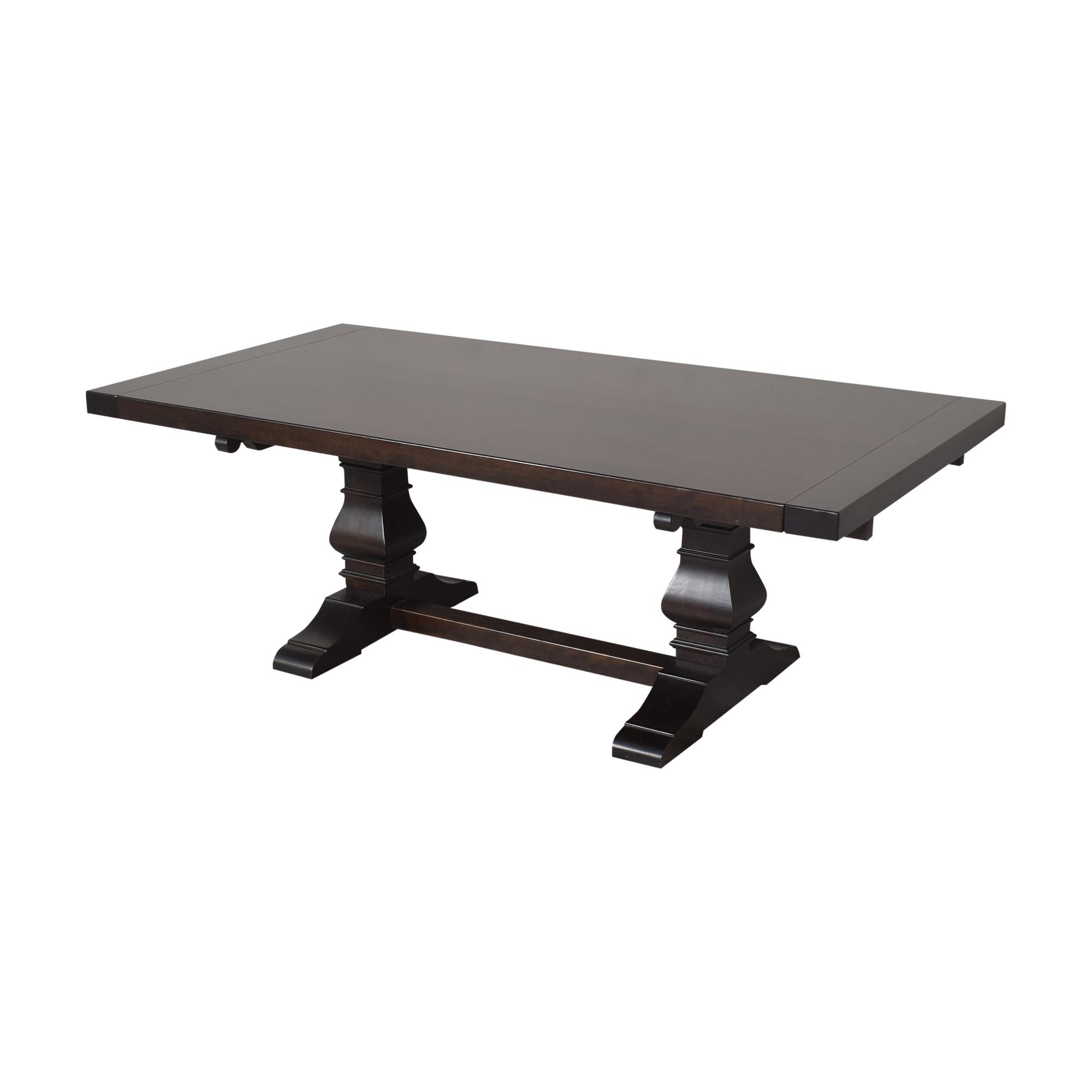 Oskar Huber Custom Trestle Dining Table / Dinner Tables