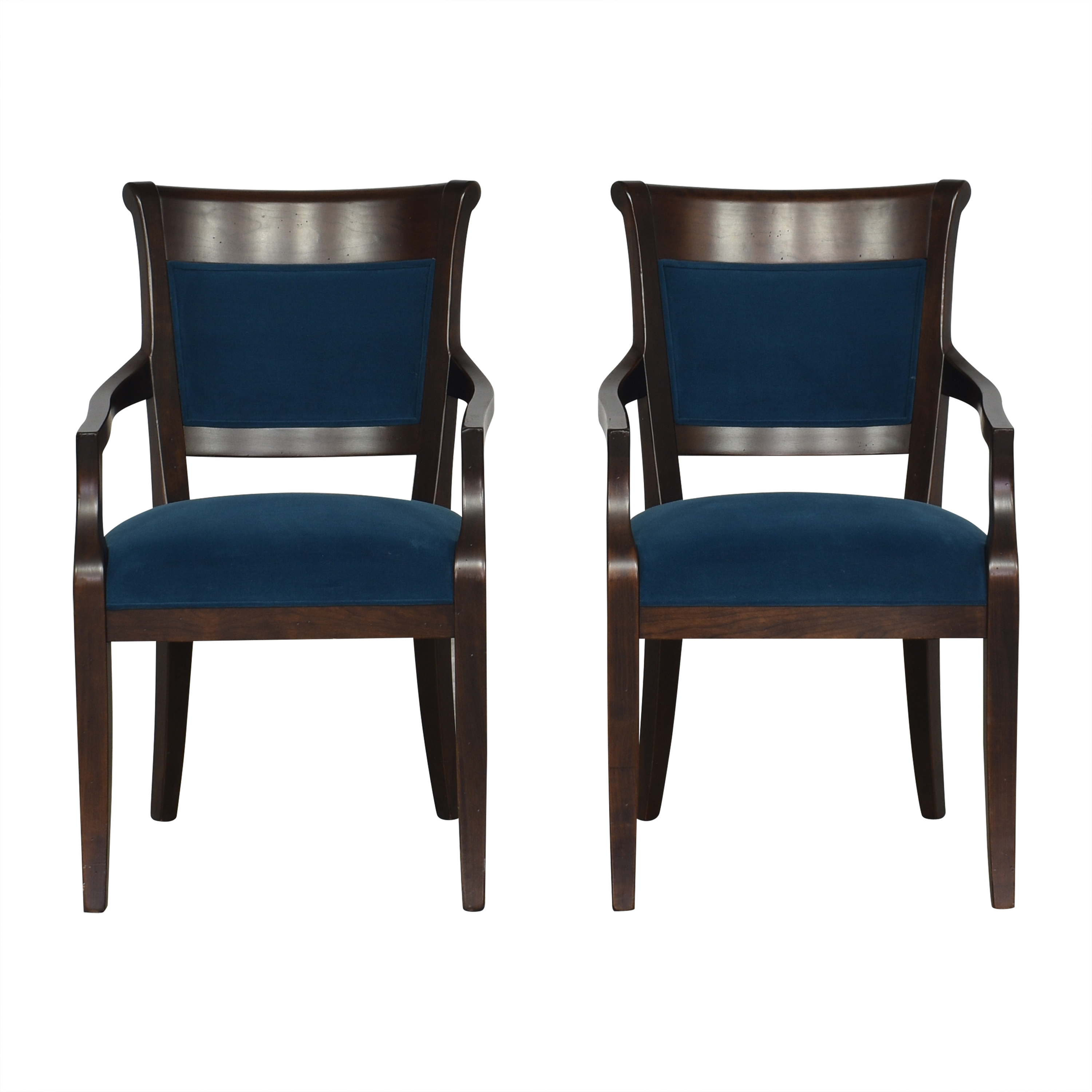 Custom Upholstered Dining Arm Chairs nj