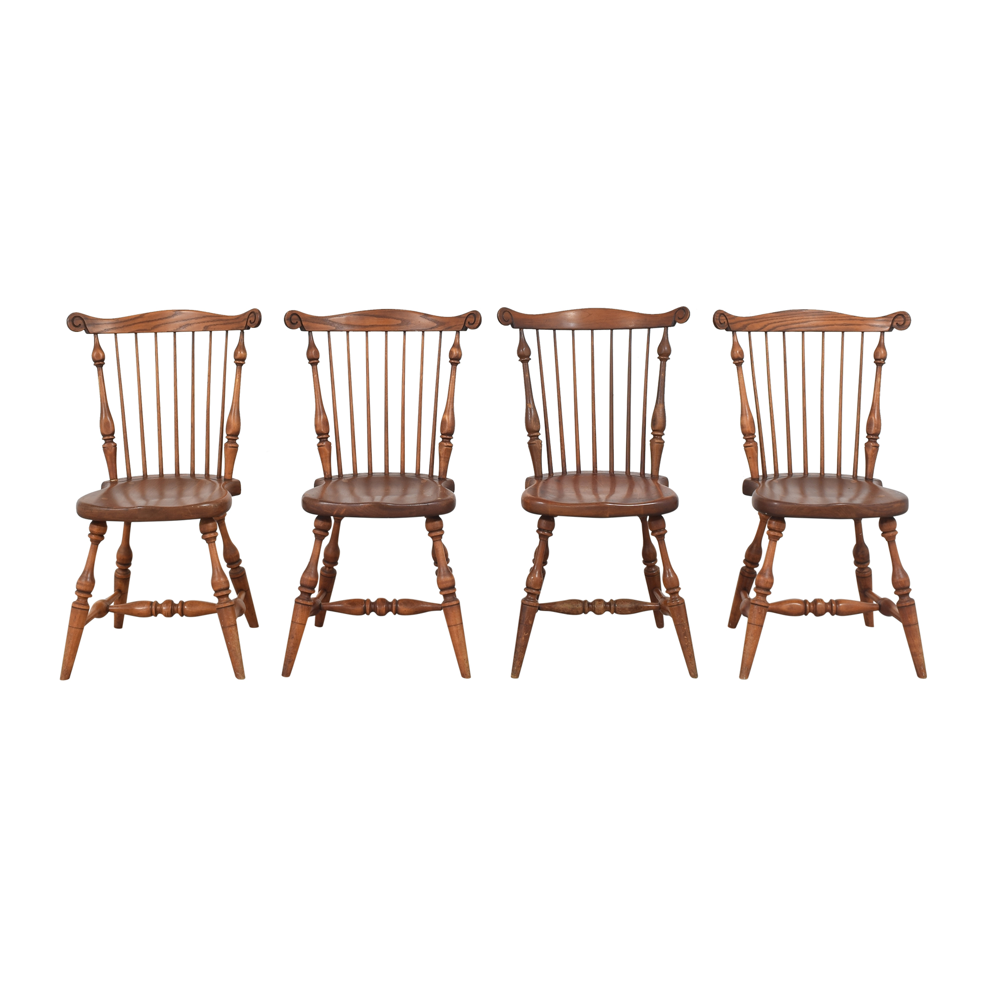 Duckloe Comb Back Windsor Dining Side Chairs / Chairs