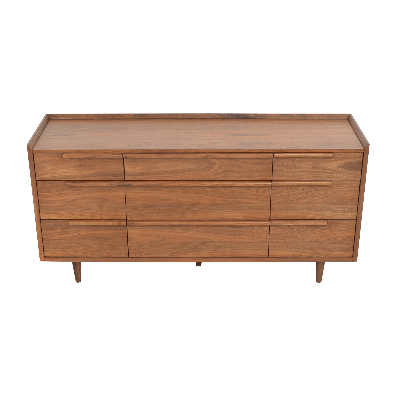 Crate & Barrel Tate Nine Drawer Dresser sale