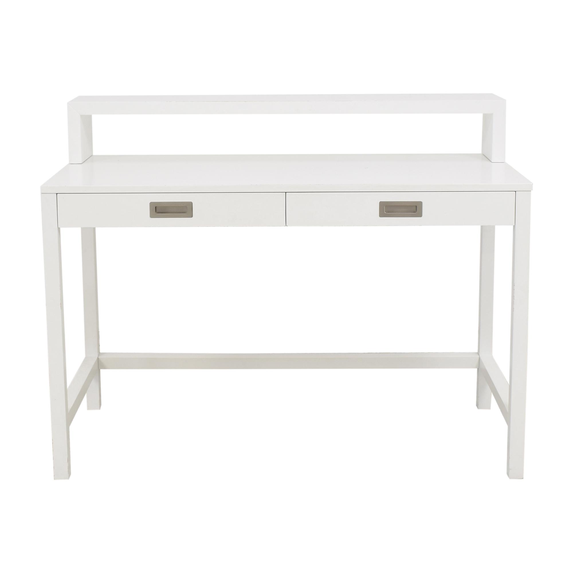 Crate & Barrel Crate & Barrel Aspect Desk with Hutch on sale