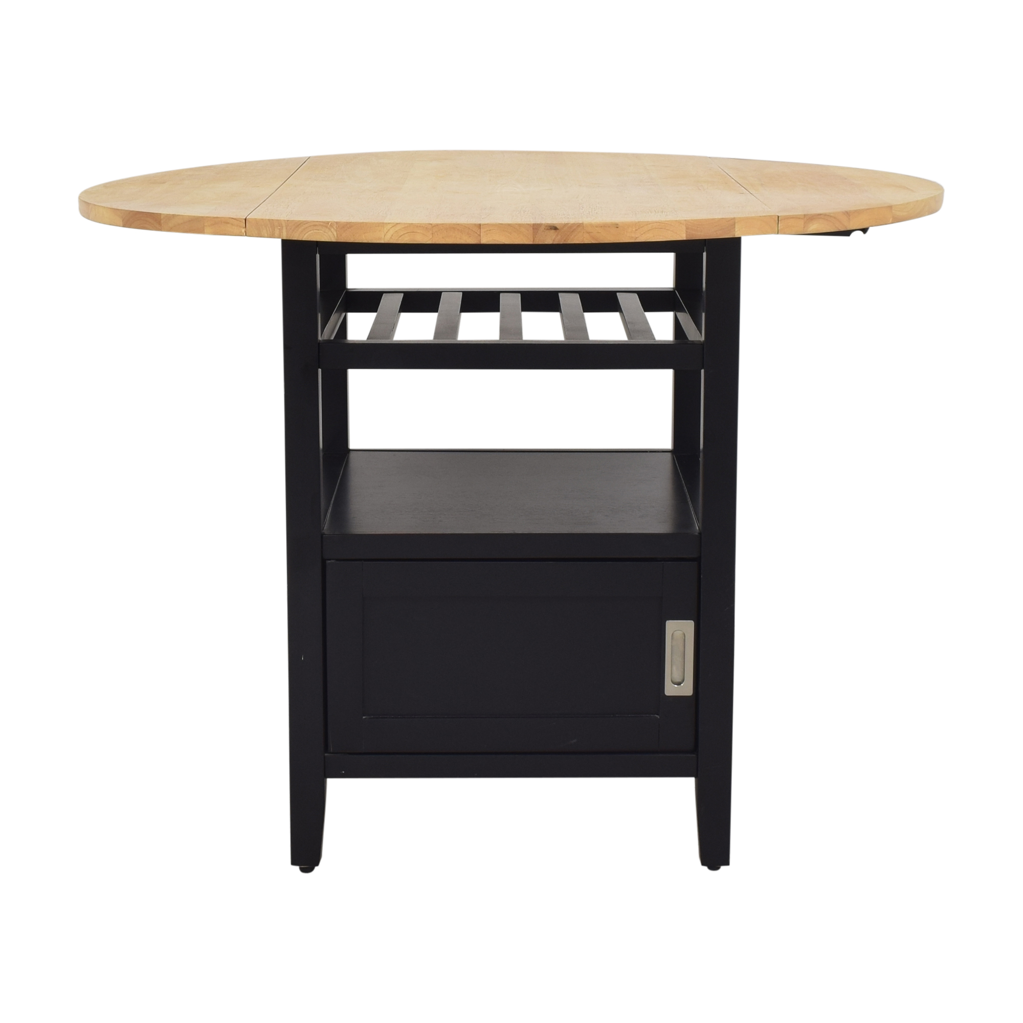 Crate & Barrel Crate & Barrel Belmont High Dining Table nyc