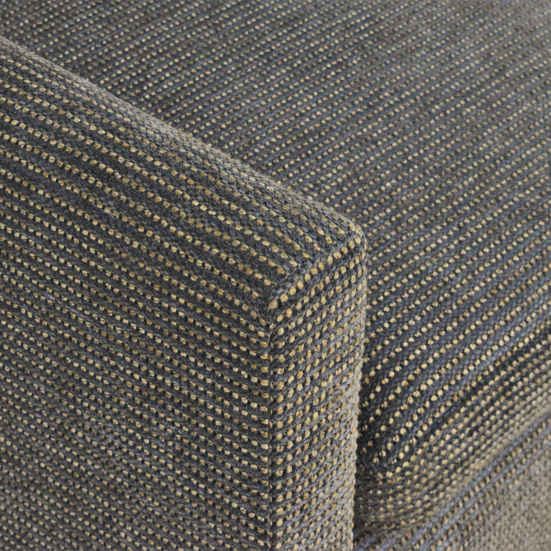 William Switzer Fine Furniture William Switzer Custom Three Cushion Sofa Gray