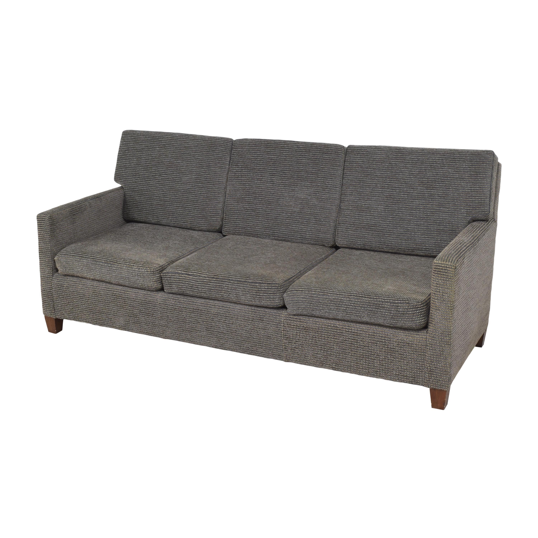 William Switzer Fine Furniture William Switzer Custom Three Cushion Sofa nj