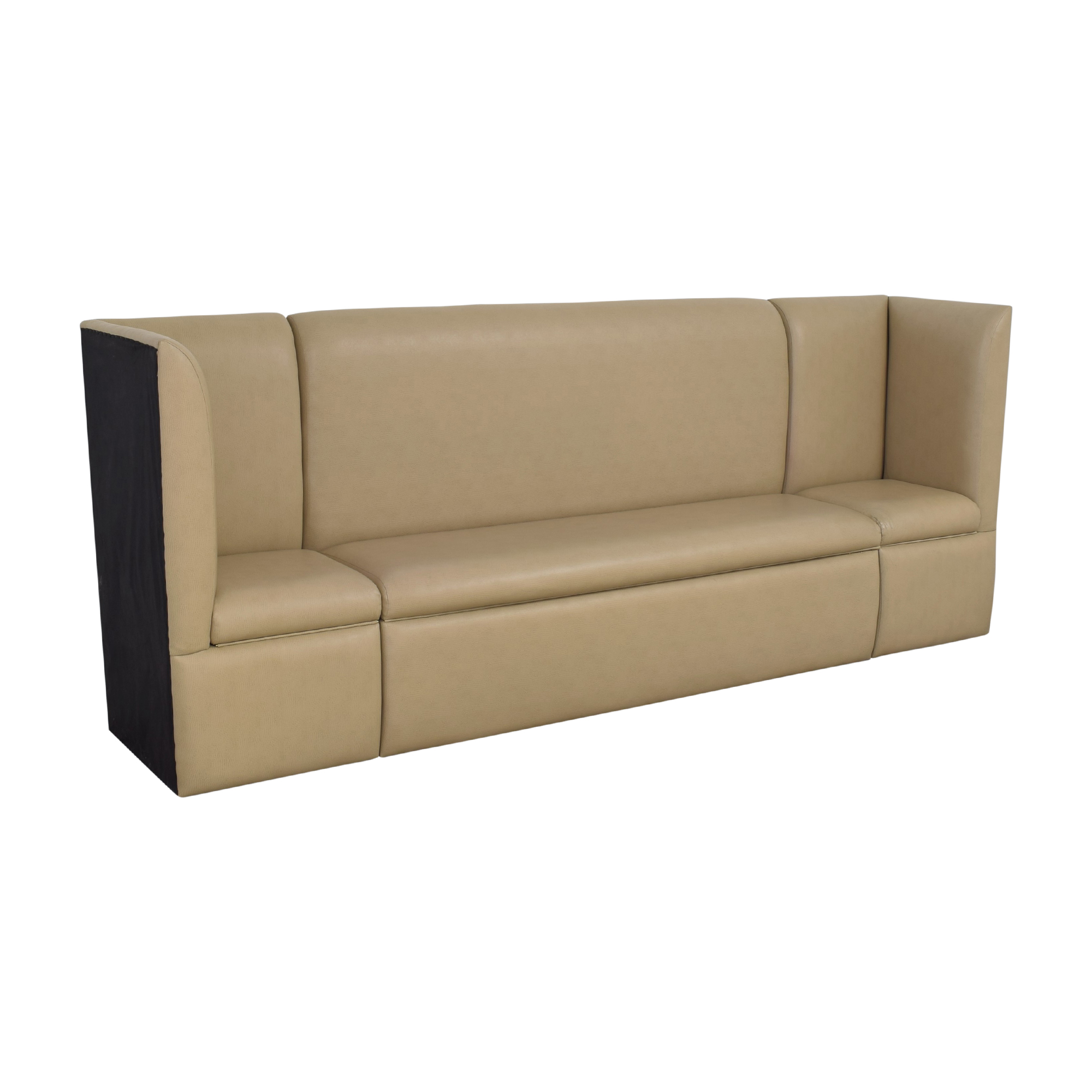 Custom Contemporary Sectional Storage Banquette price