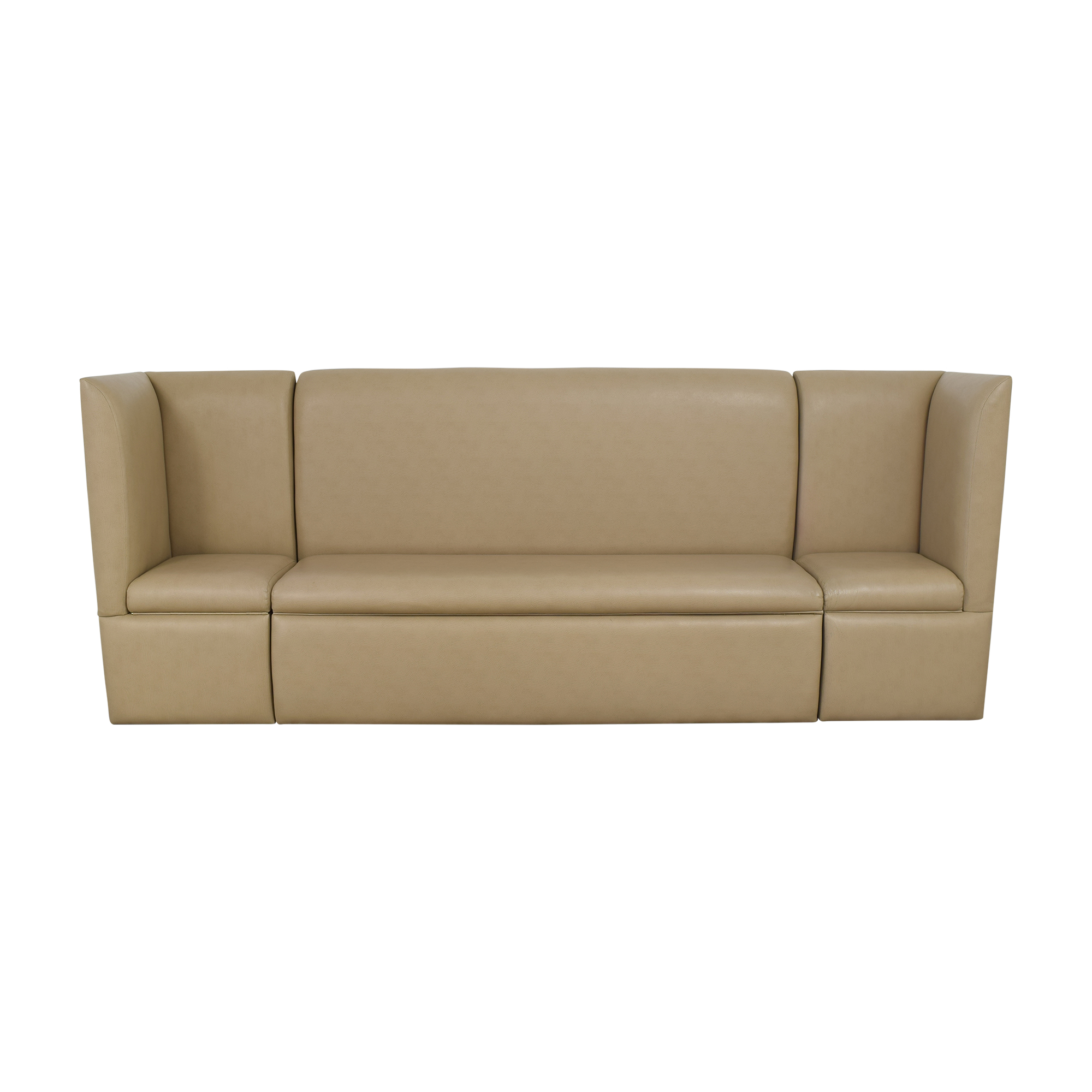 Custom Contemporary Sectional Storage Banquette discount