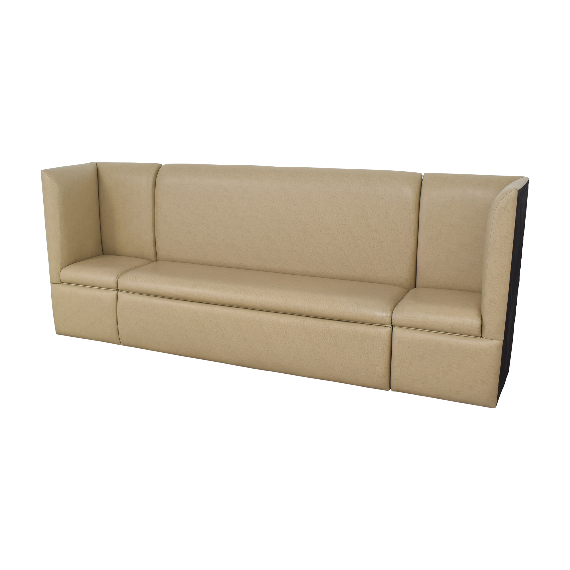 Custom Contemporary Sectional Storage Banquette for sale