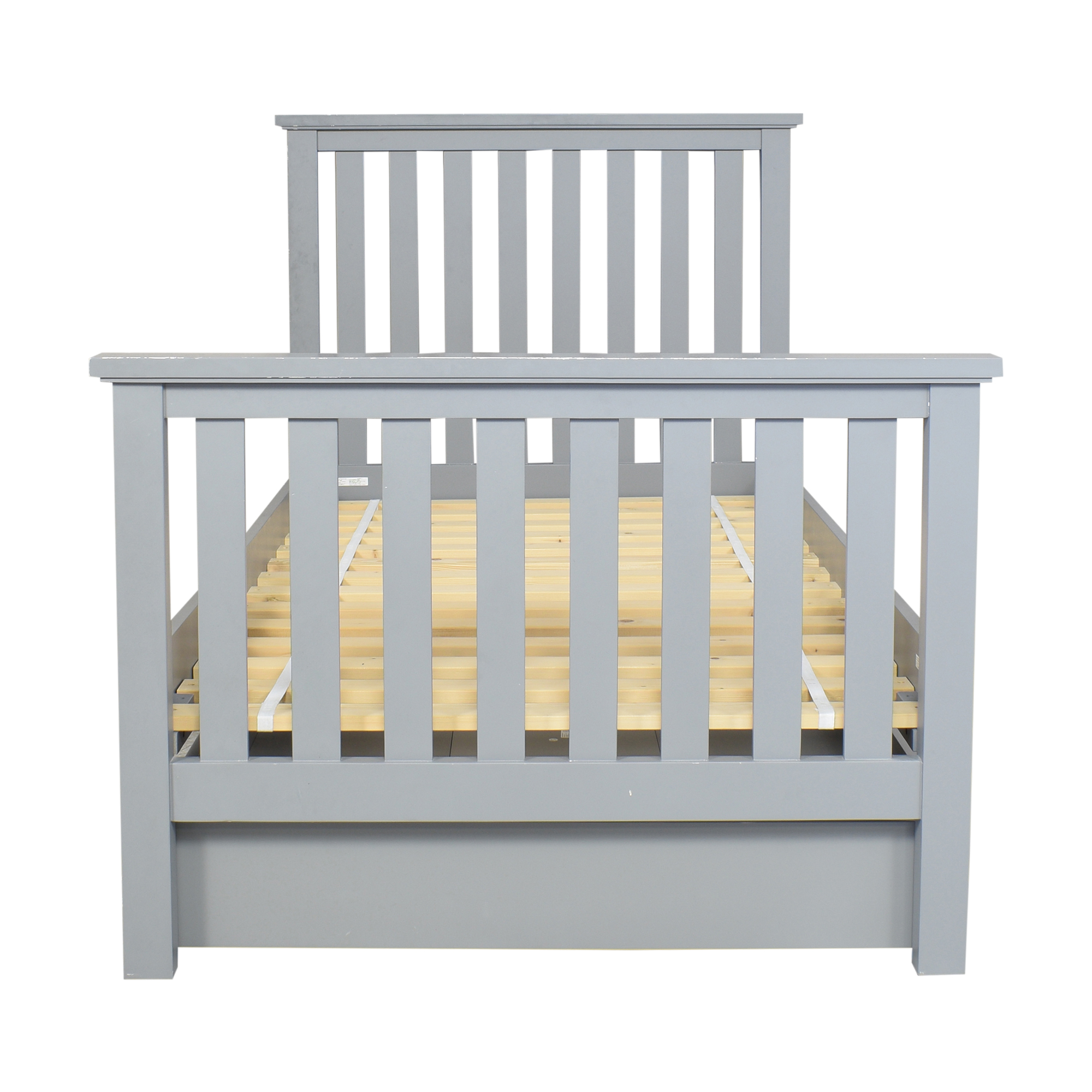 Pottery Barn Kids Elliot Twin Bed with Trundle / Bed Frames